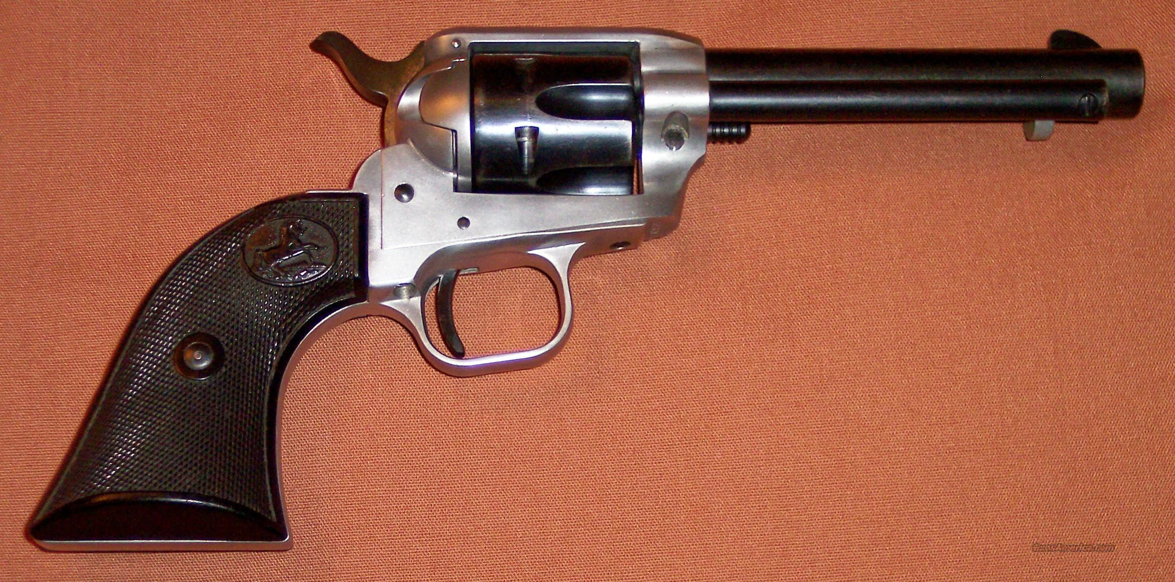 1st Year Production Colt Scout .22 LR Duo Tone  Guns > Pistols > Colt Single Action Revolvers - Modern (22 Cal.)
