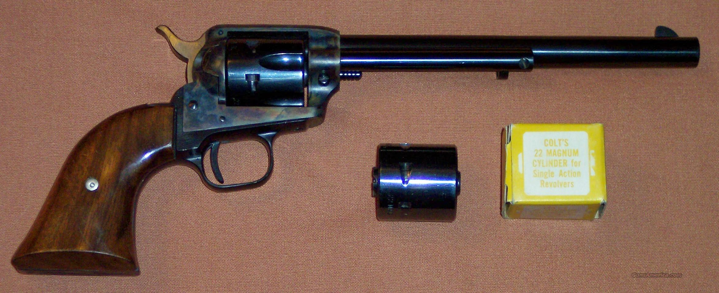 "Colt Peacemaker Buntline .22/.22 Magnum 7.5"" Barrel  Guns > Pistols > Colt Single Action Revolvers - Modern (22 Cal.)"