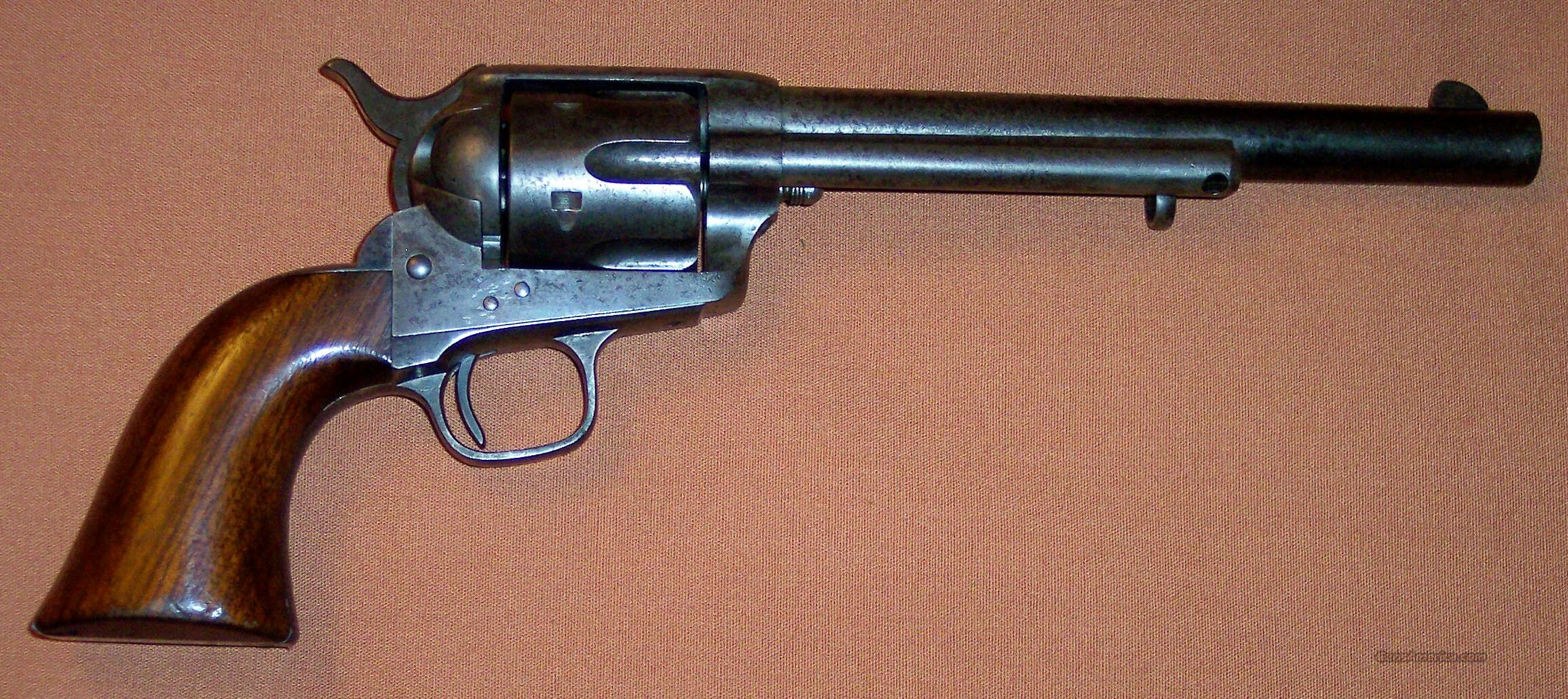 Colt SAA 1st Generation Early Civilian Model  Guns > Pistols > Colt Single Action Revolvers - 1st Gen.
