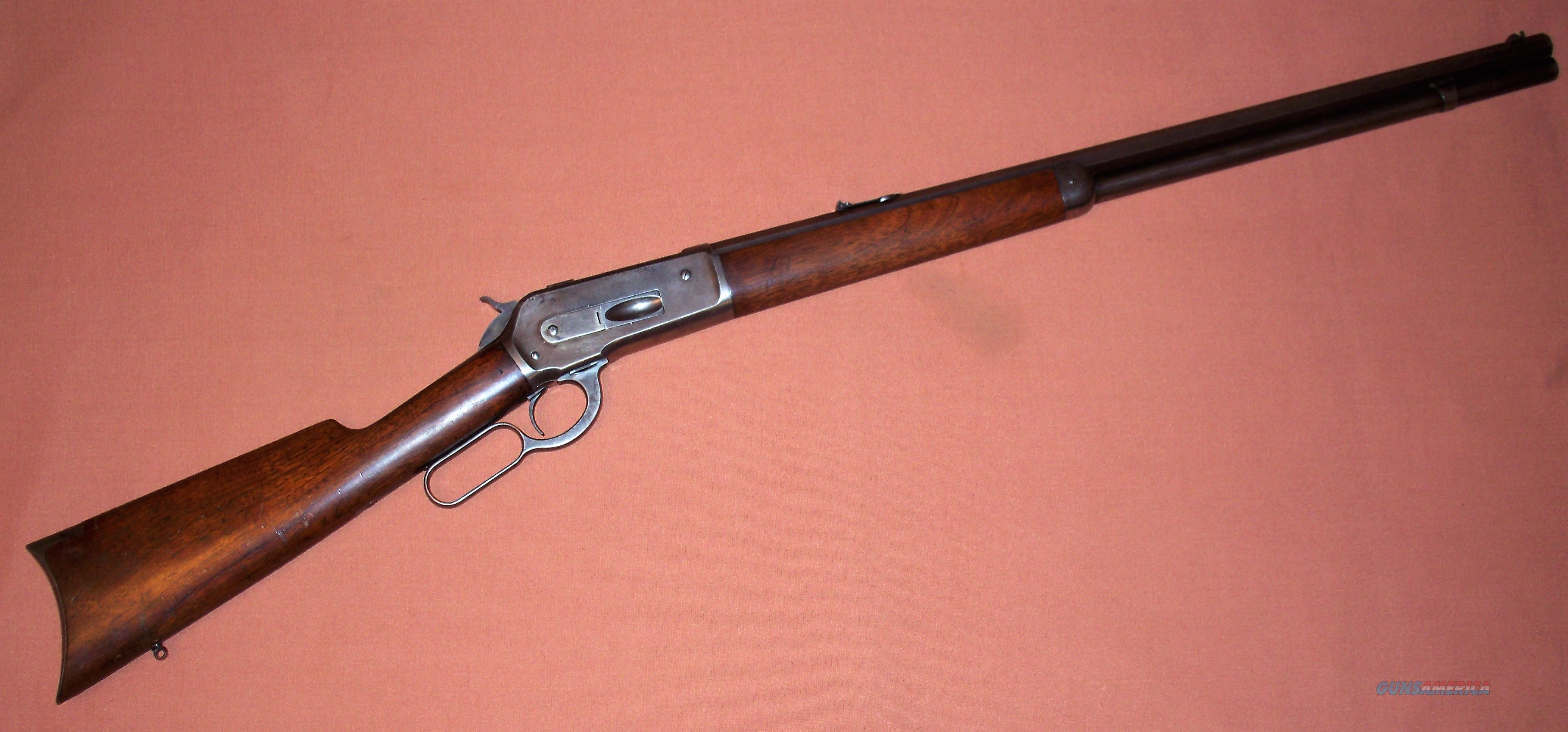 Winchester Model 1886 45-70 Octagon Barrel c. 1896 ANTIQUE  Guns > Rifles > Winchester Rifles - Pre-1899 Lever