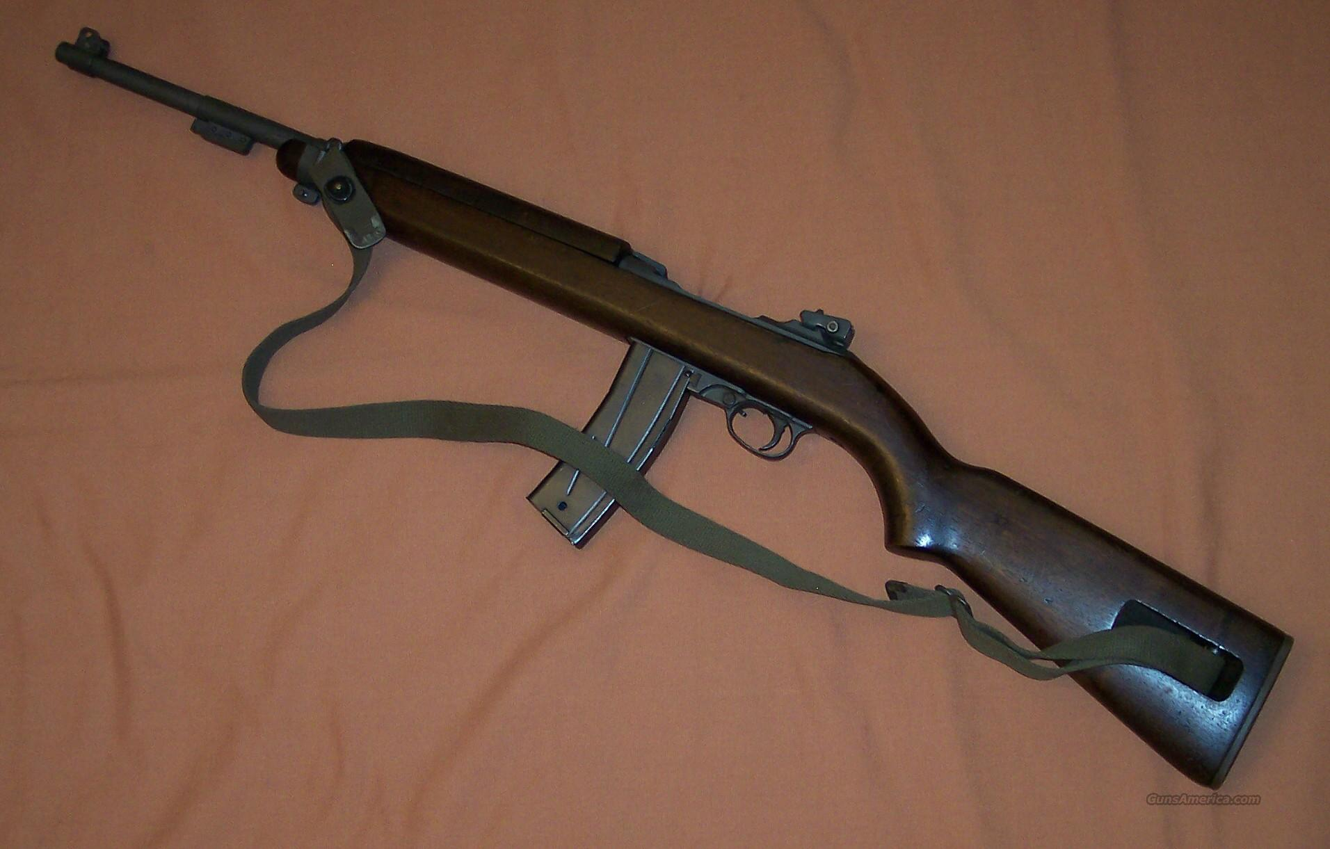 Saginaw M-1 Carbine made 1943  Guns > Rifles > Military Misc. Rifles US > M1 Carbine