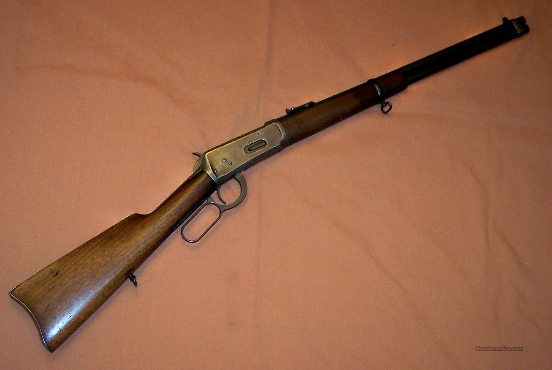 Winchester 1894 Saddle Ring Carbine in .25-35  Guns > Rifles > Winchester Rifles - Modern Lever > Model 94 > Pre-64