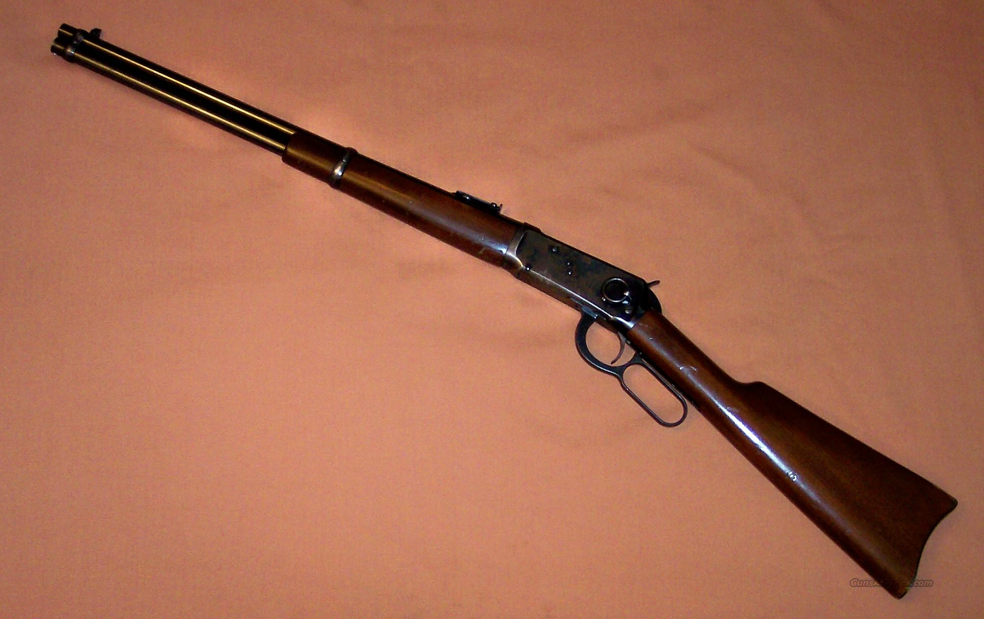 Winchester 1894 Saddle Ring Carbine c. 1910 .30WCF  Guns > Rifles > Winchester Rifles - Modern Lever > Model 94 > Pre-64