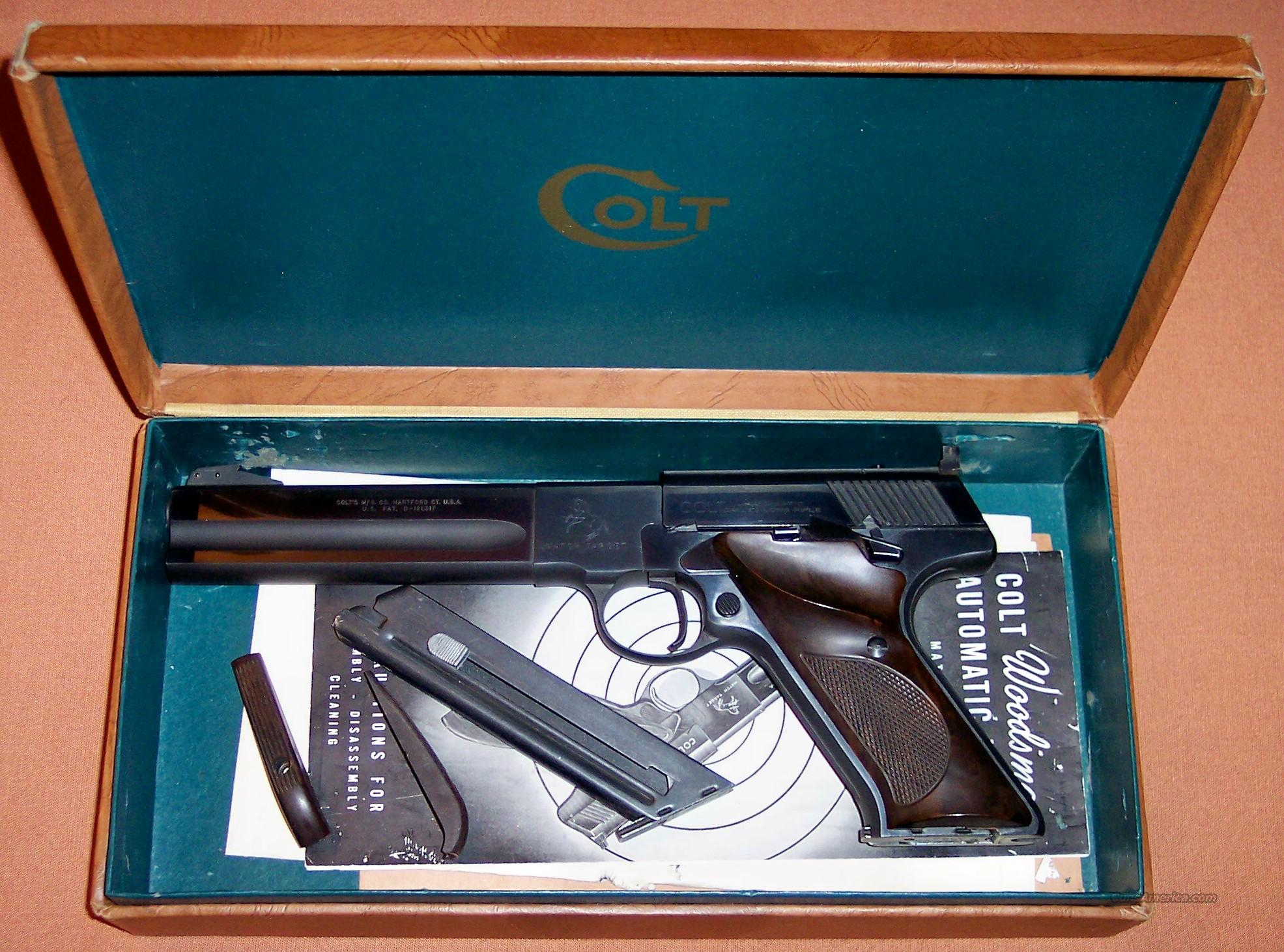"Colt Woodsman Match Target 2nd Series 6"" Barrel  Guns > Pistols > Colt Automatic Pistols (22 Cal.)"