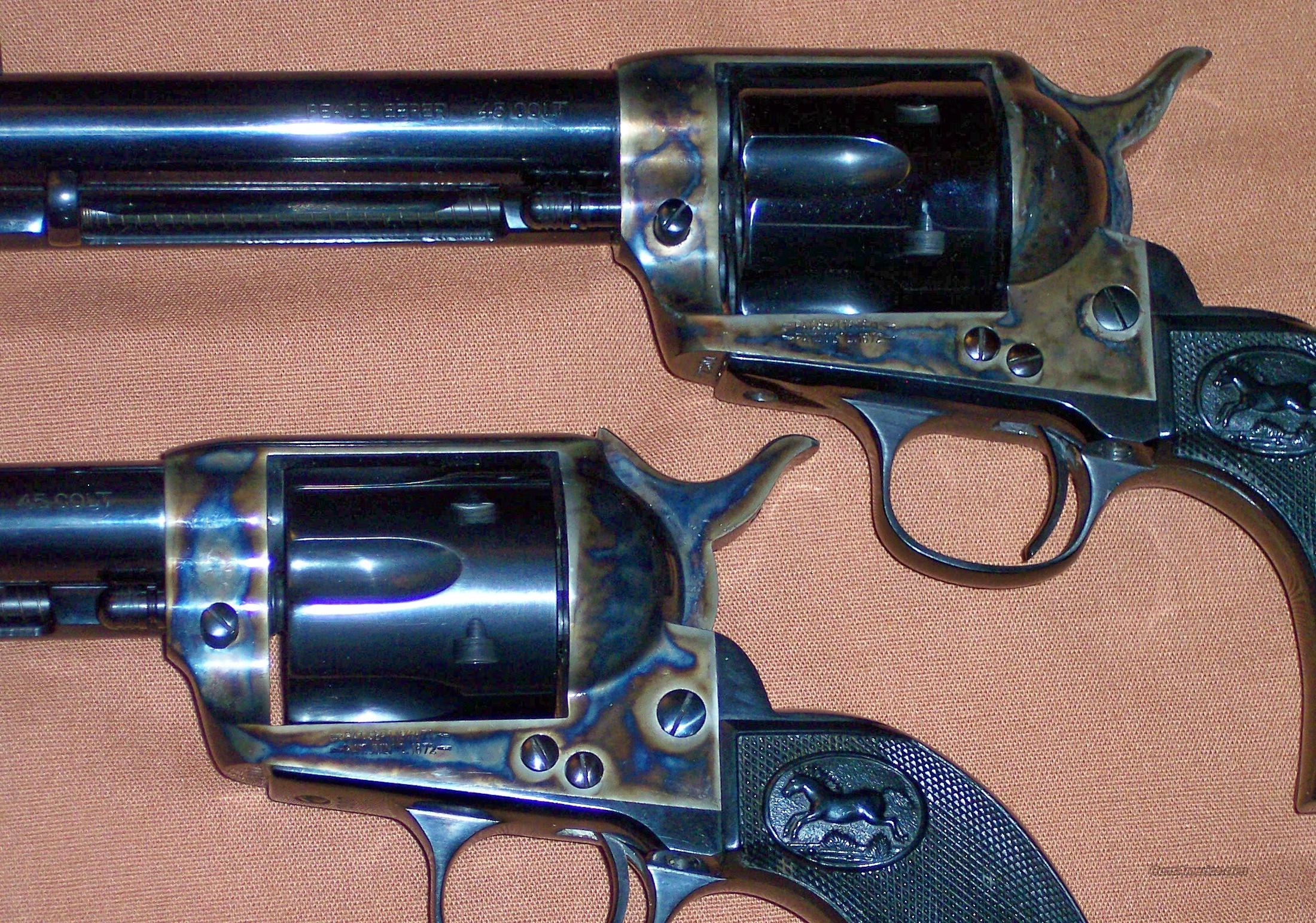 AWA Peacekeeper SAA Revolver Consecutively Numbered Pair  Guns > Pistols > American Western Arms (AWA) Pistols