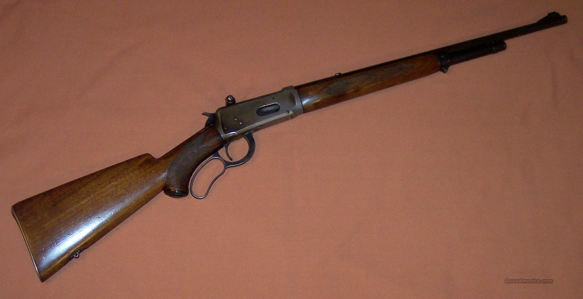 Winchester Model 64 Deluxe Carbine 30 WCF  Guns > Rifles > Winchester Rifles - Modern Lever > Other Lever > Pre-64