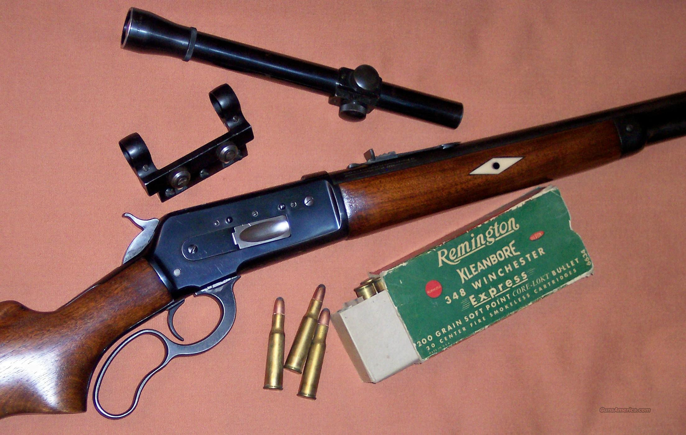 Winchester Model 71 Left Hand Custom circa '50's  Guns > Rifles > Winchester Rifles - Modern Lever > Other Lever > Pre-64