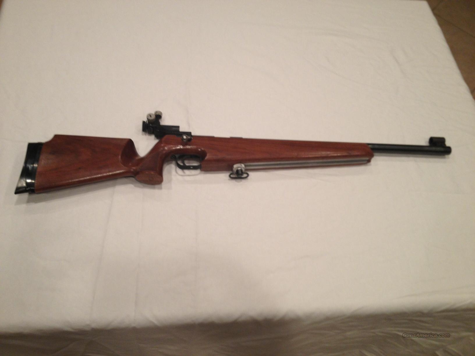 Anschutz 64 Match Rifle For Sale