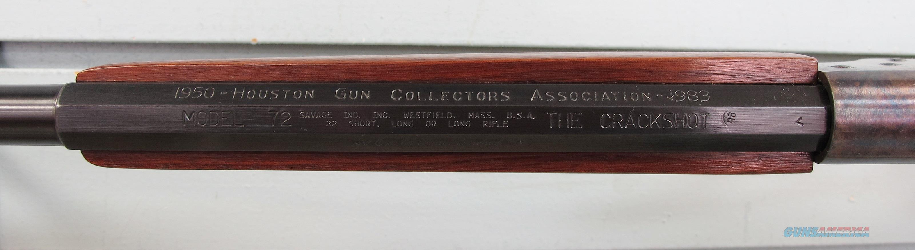 Savage Model 72 Crackshot .22LR - 1 of 500   Guns > Rifles > Savage Rifles > Rimfire