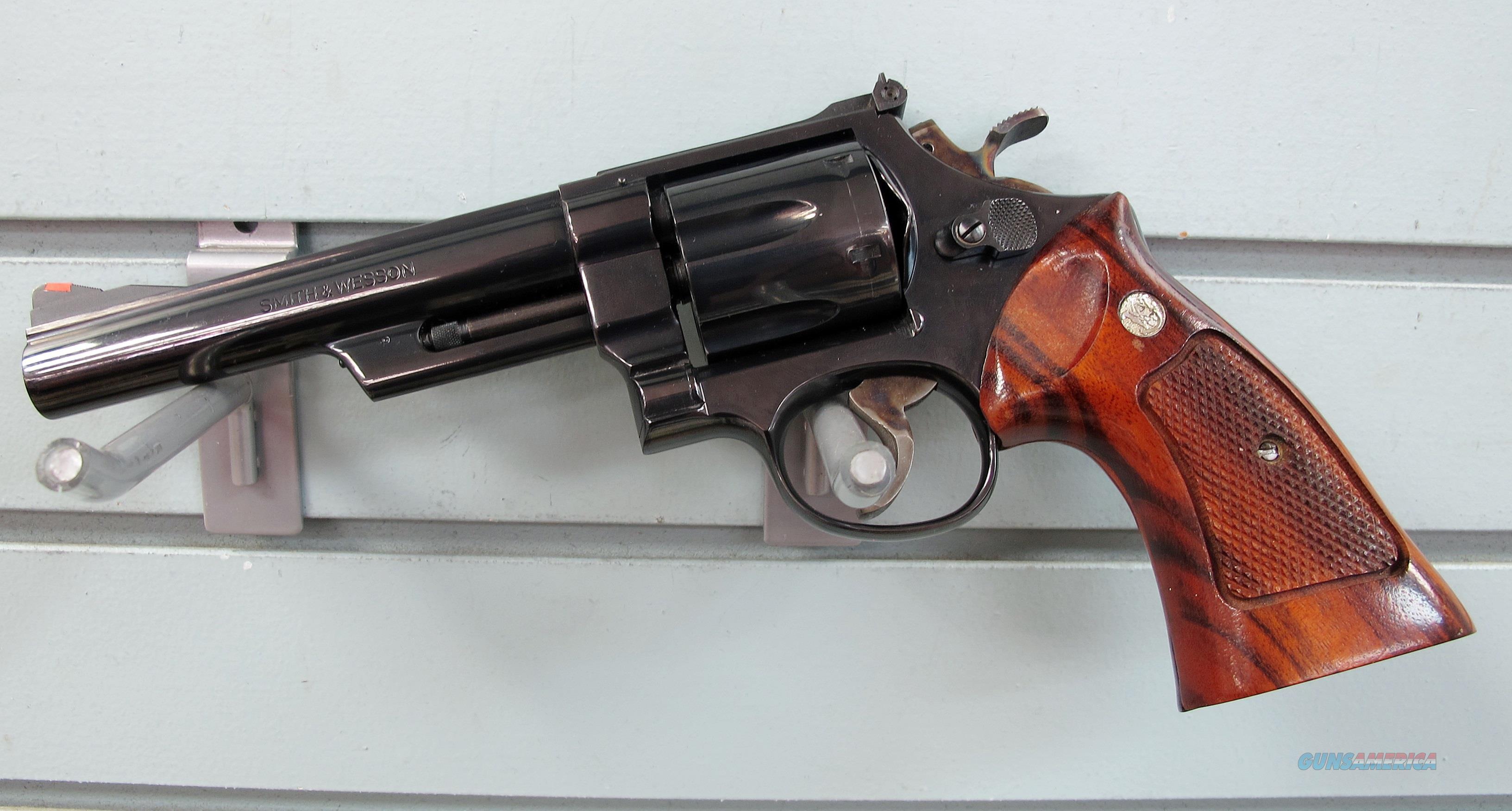 SMITH & WESSON 41 MAG MODEL 57 REVOLVER  Guns > Pistols > Smith & Wesson Revolvers > Full Frame Revolver