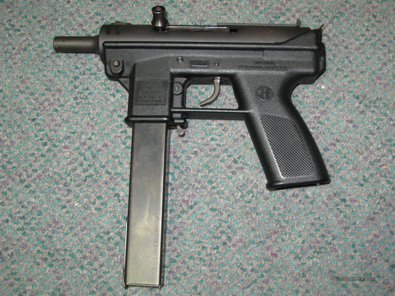 Intratec AB-10 TEC9 9mm  Guns > Pistols > Intratec Pistols