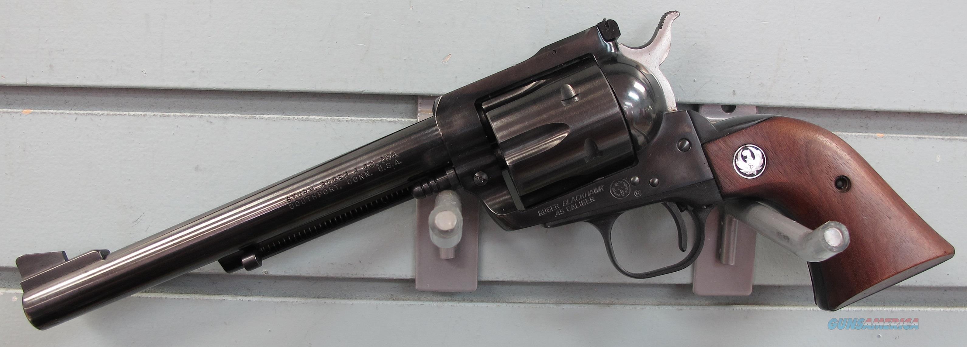 RUGER BLACKHAWK THREE SCREW REVOLVER  Guns > Pistols > Ruger Single Action Revolvers > Blackhawk Type