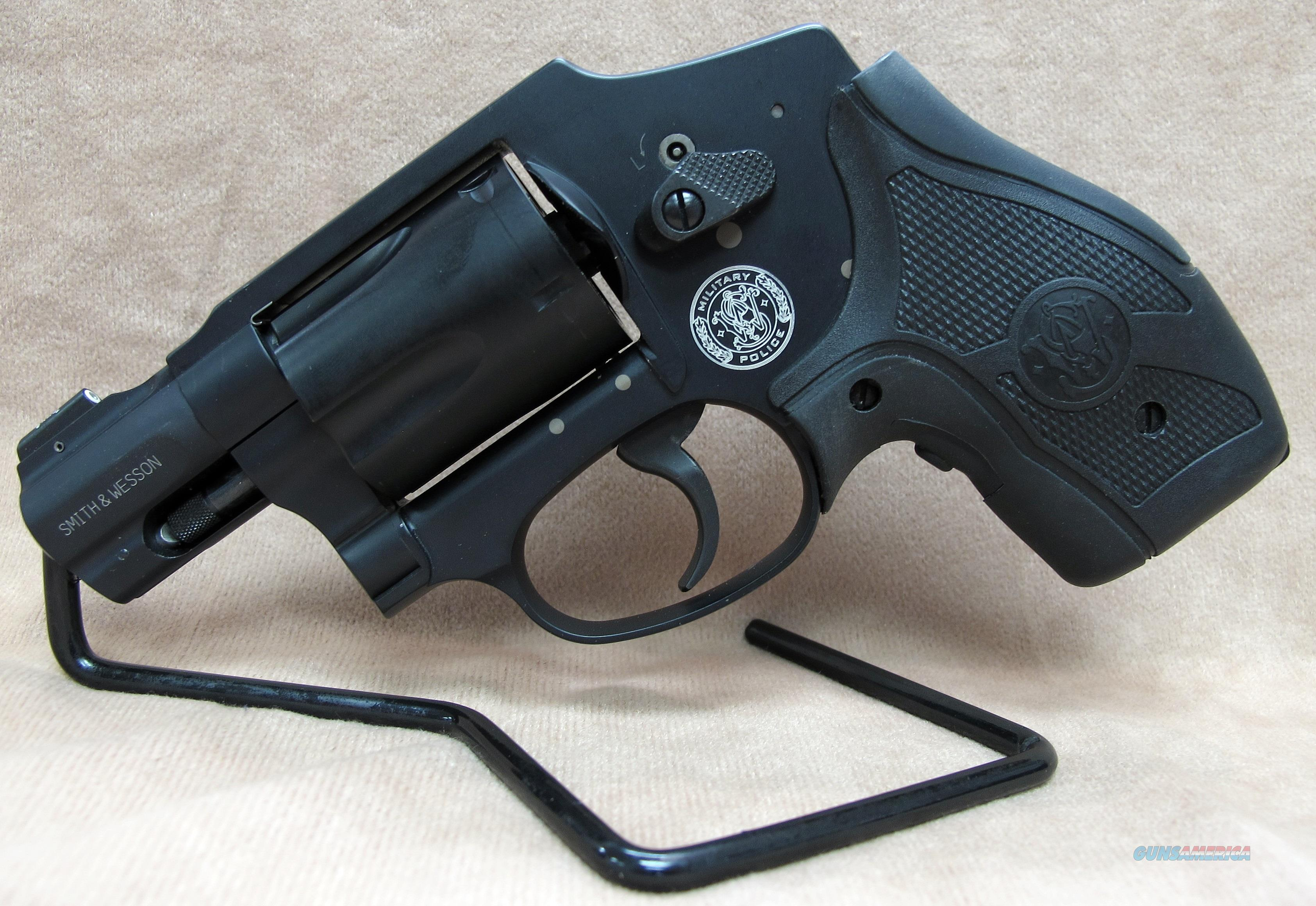 SMITH & WESSON M&P 340 357MAG  Guns > Pistols > Smith & Wesson Revolvers > Pocket Pistols