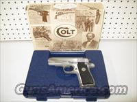 Colt MK IV Series 80 Government Model 380 Stainless  Guns > Pistols > Colt Automatic Pistols (.25, .32, & .380 cal)
