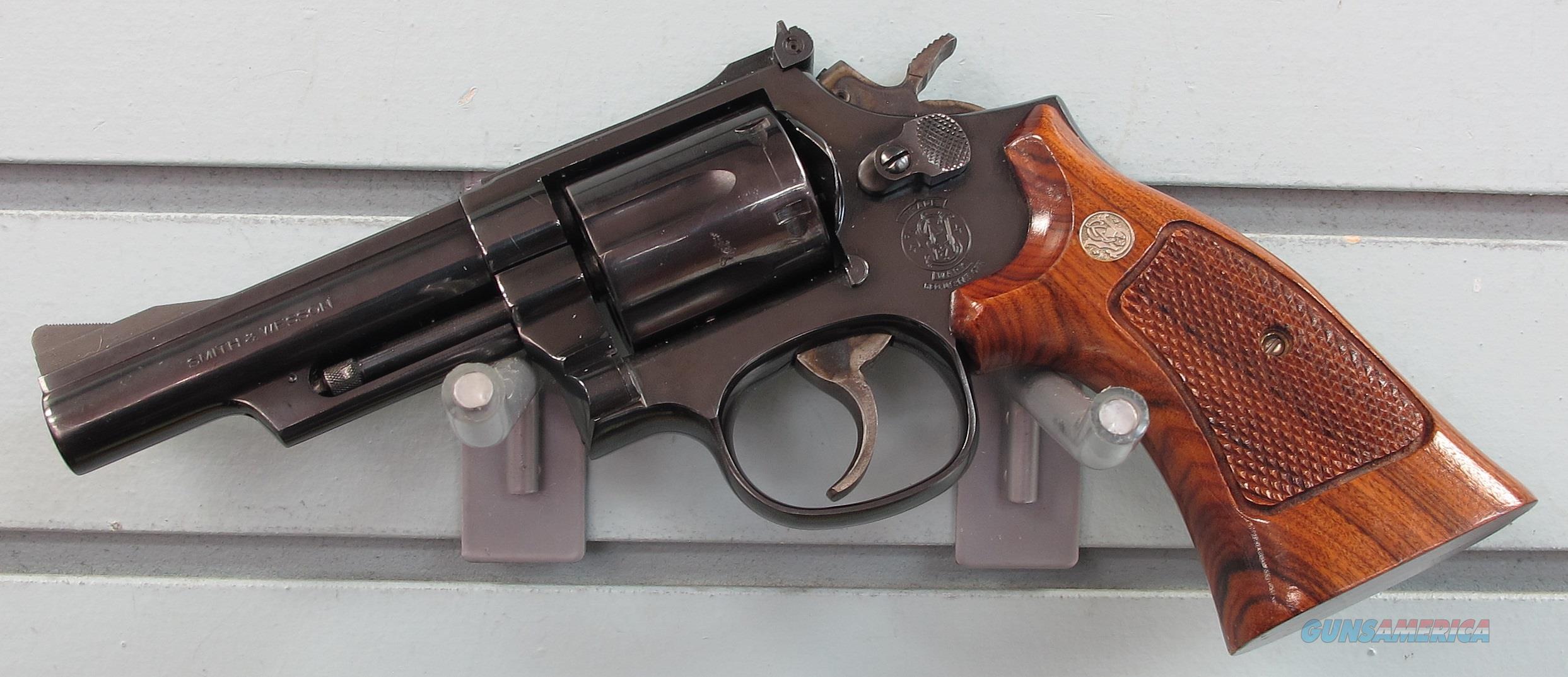 SMITH & WESSON MODEL 19-6 357 MAGNUM REVOLVER  Guns > Pistols > Smith & Wesson Revolvers > Med. Frame ( K/L )