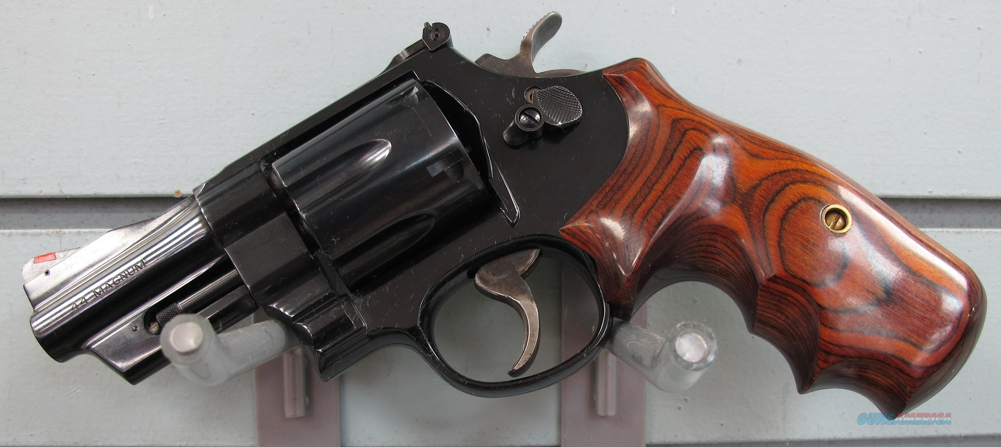 SMITH & WESSON 44 MAGNUM  REVOLVER  Guns > Pistols > Smith & Wesson Revolvers > Full Frame Revolver