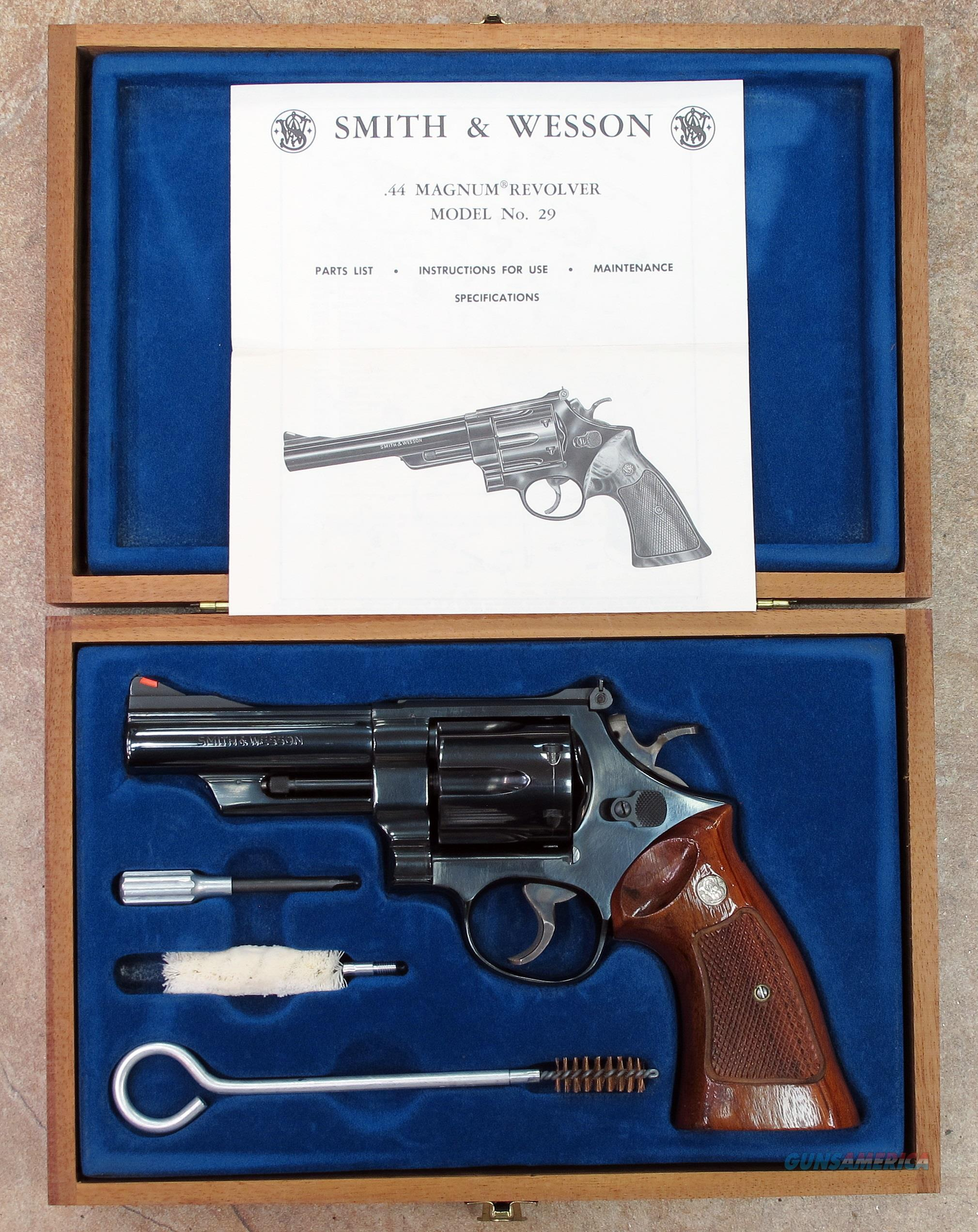 SMITH & WESSON 29-2 44 MAGNUM  Guns > Pistols > Smith & Wesson Revolvers > Full Frame Revolver