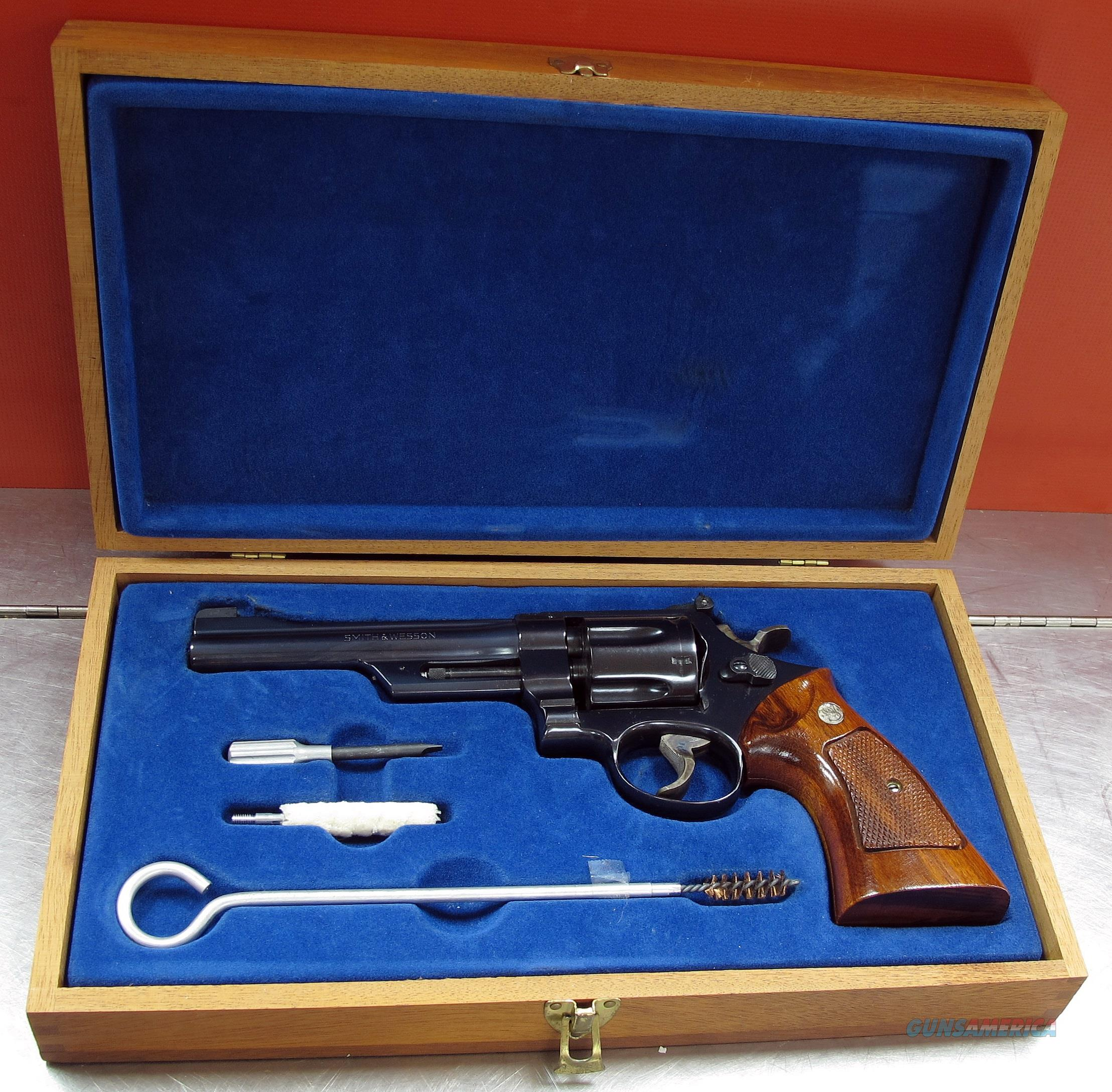 SMITH & WESSON 27-2  Guns > Pistols > Smith & Wesson Revolvers > Med. Frame ( K/L )