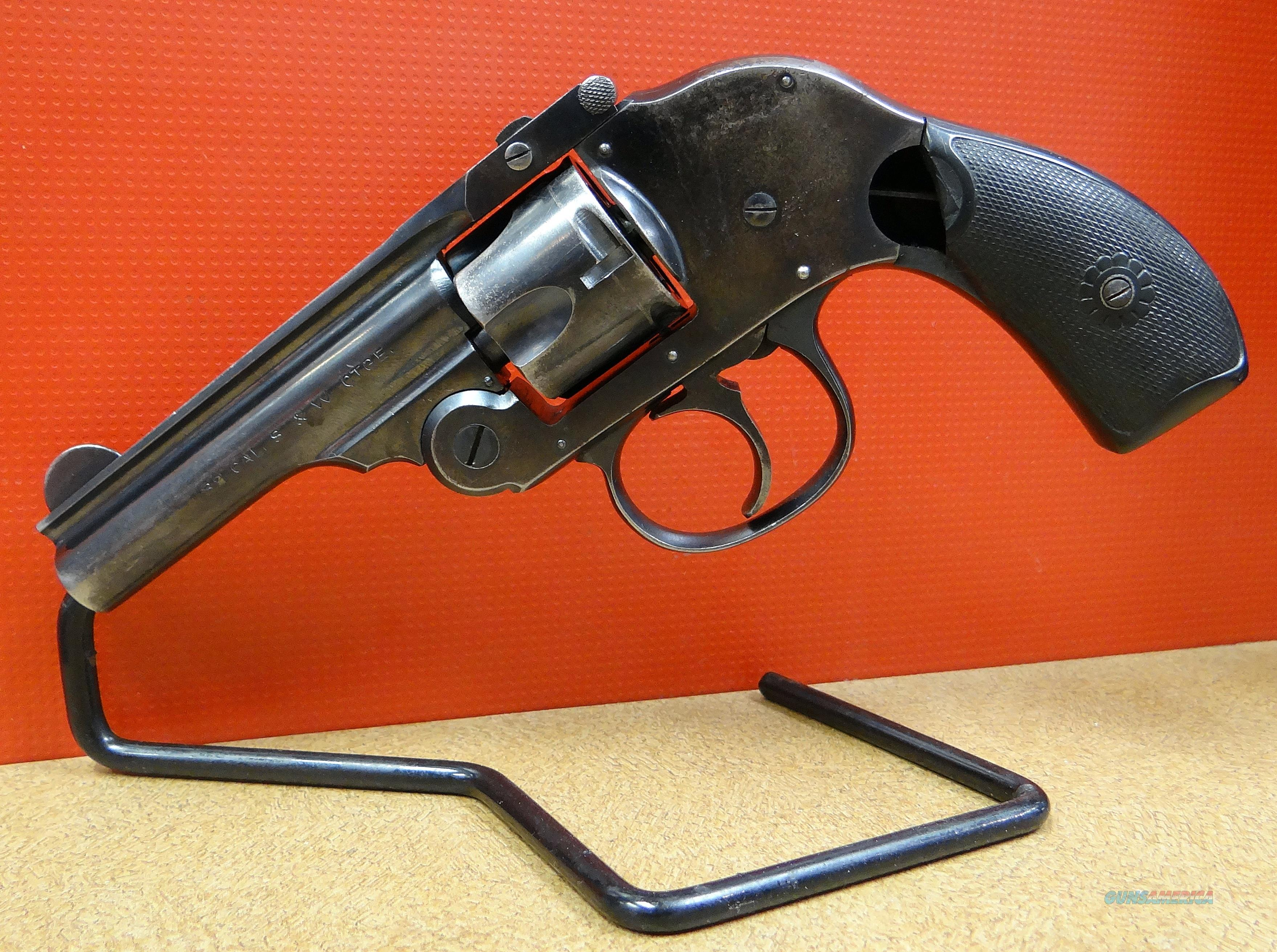 H&R HAMMERLESS SECOND MODEL  Guns > Pistols > Harrington & Richardson Pistols