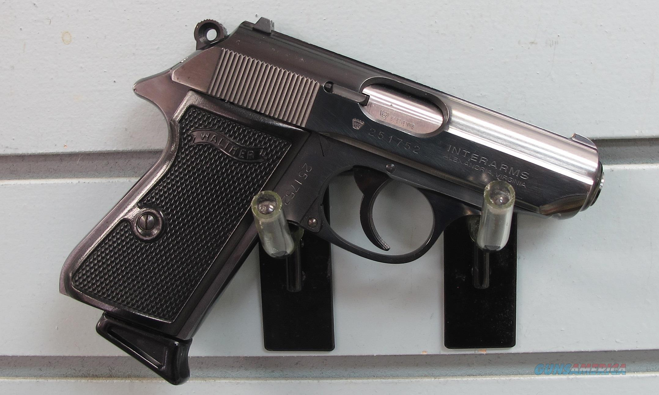 WALTHER PPK/S 380 PISTOL  Guns > Pistols > Walther Pistols > Post WWII > PPK Series