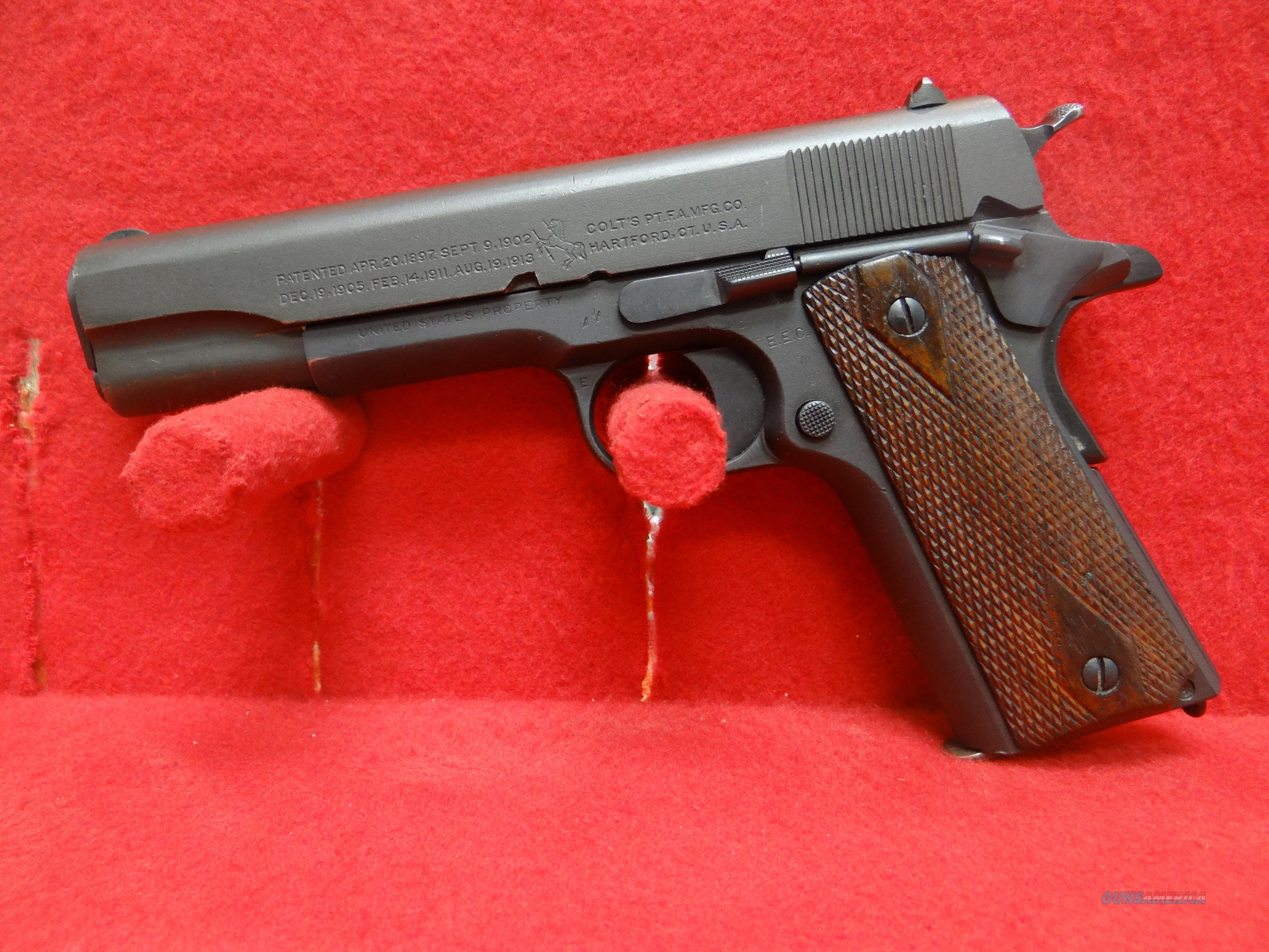 REMINGTON UMC 1911  Guns > Pistols > Military Misc. Pistols US > 1911 Pattern