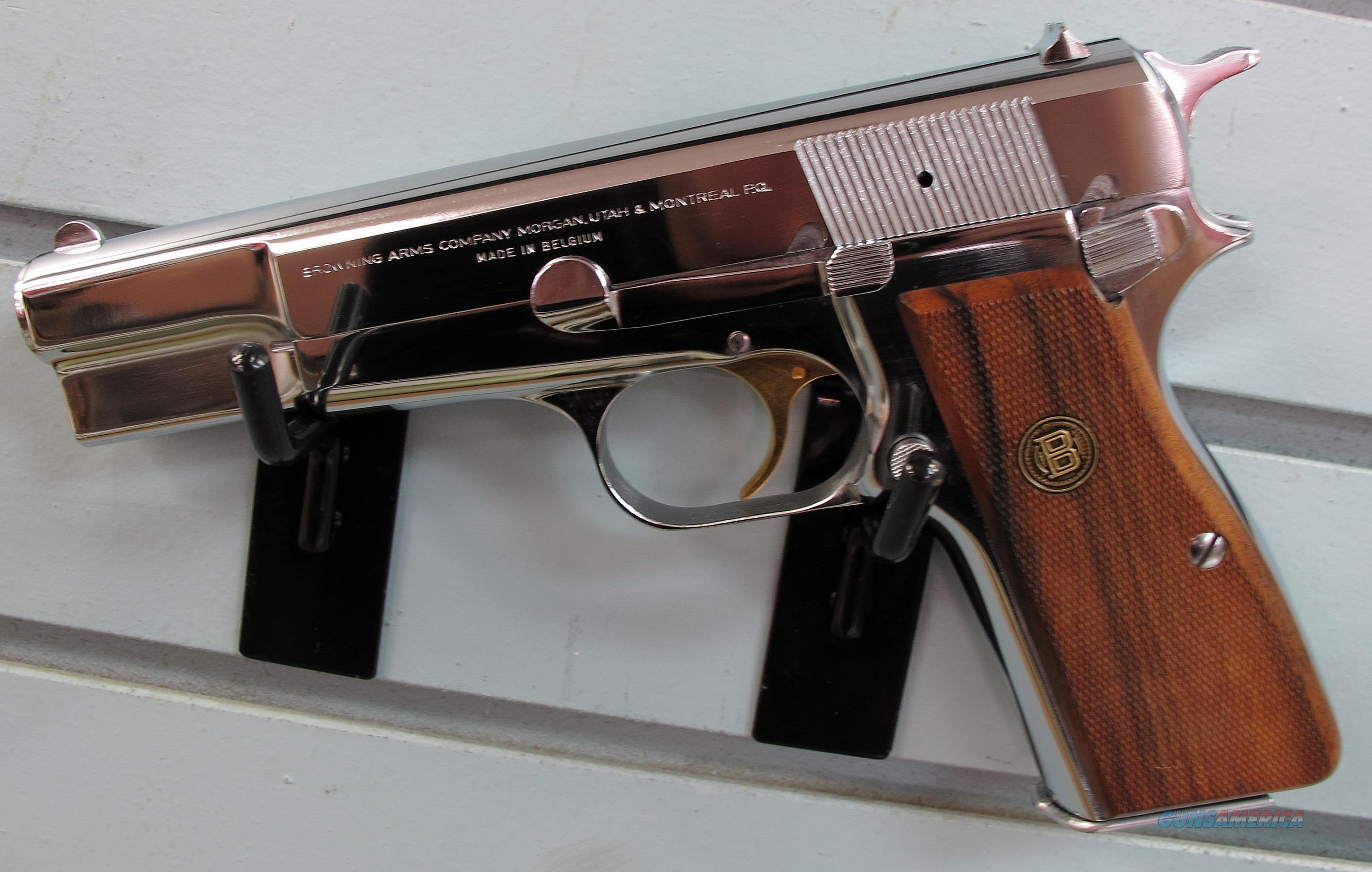 BROWNING CENETNNIAL HI POWER  Guns > Pistols > Browning Pistols > Hi Power