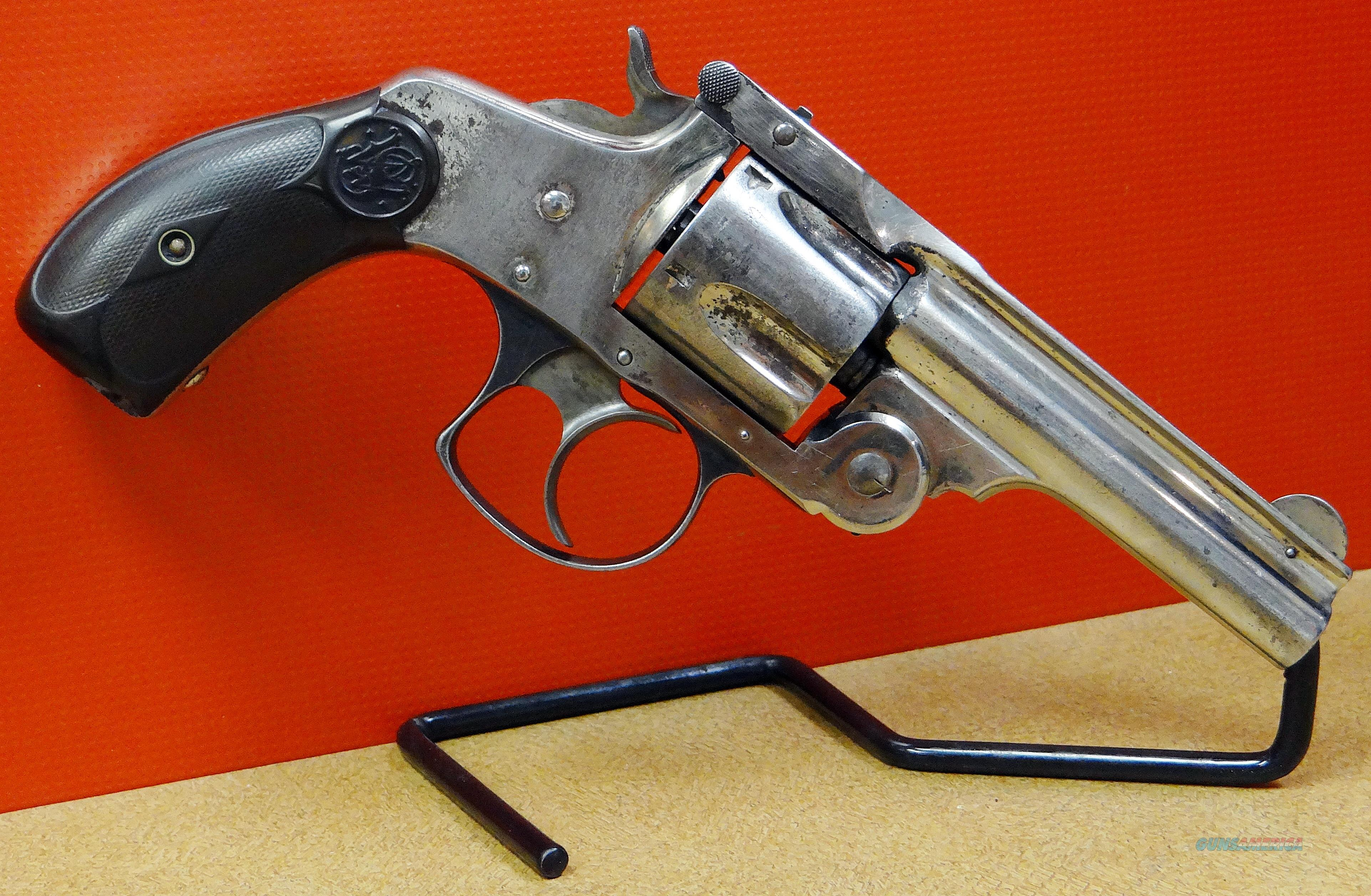 SMITH & WESSON TOP BREAK  THIRD MODEL  Guns > Pistols > Smith & Wesson Revolvers > Pre-1899