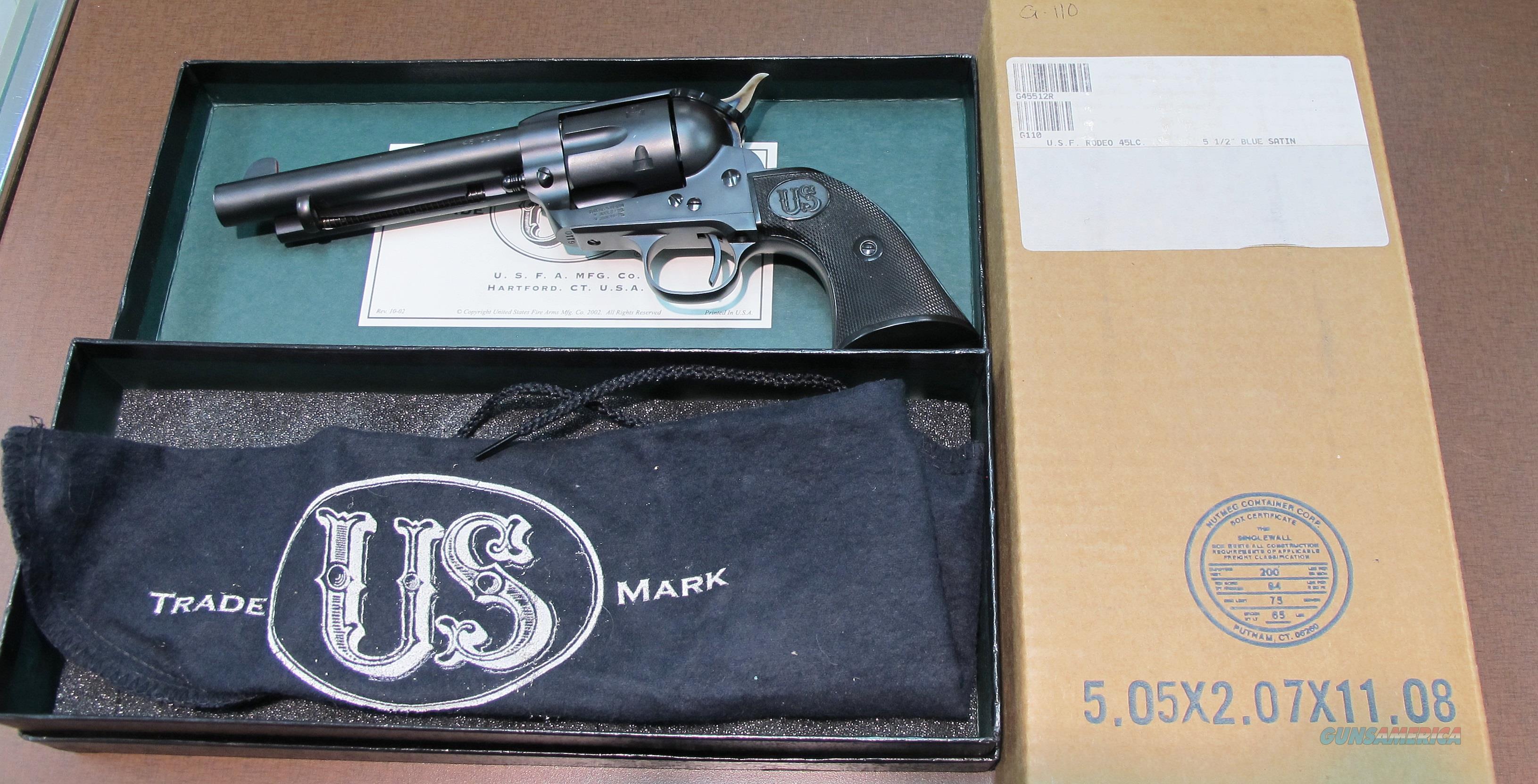 USFA 45 COLT RODEO REVOLVER  Guns > Pistols > USFA Pistols