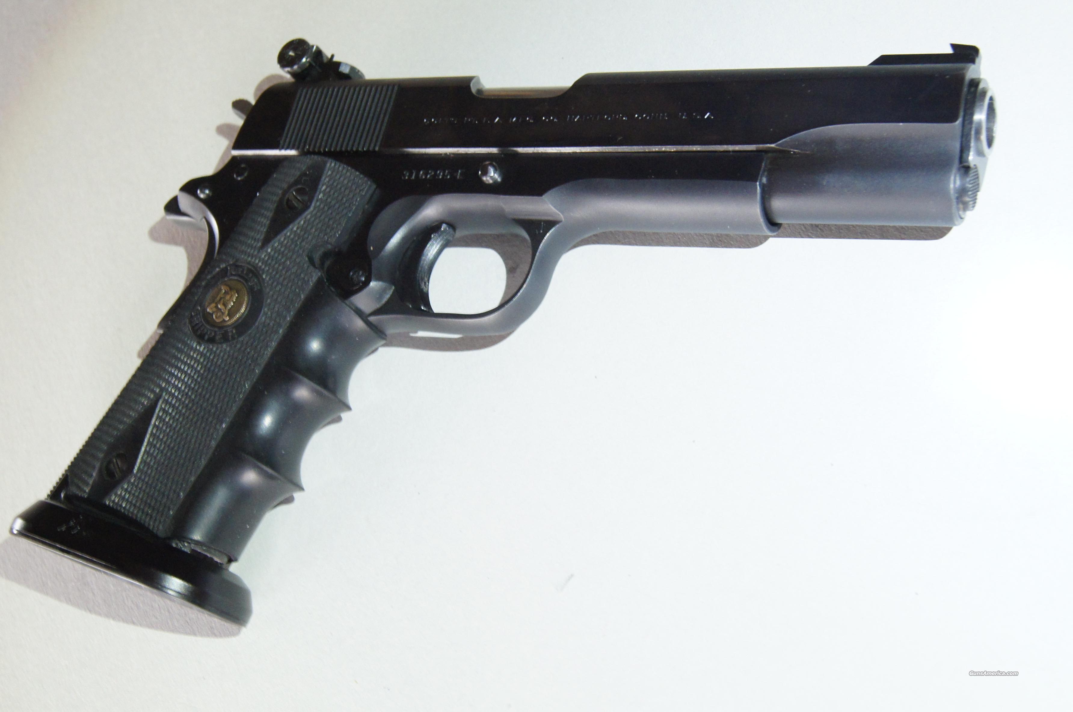 1940 Vintage Llama Extra 1911 Pistol in 9mm Largo ** Non