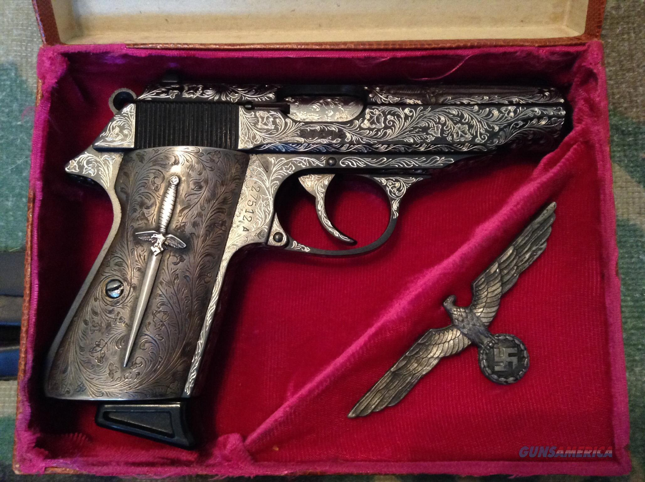 (Walther PP silver nazi German commemorative .... for sale