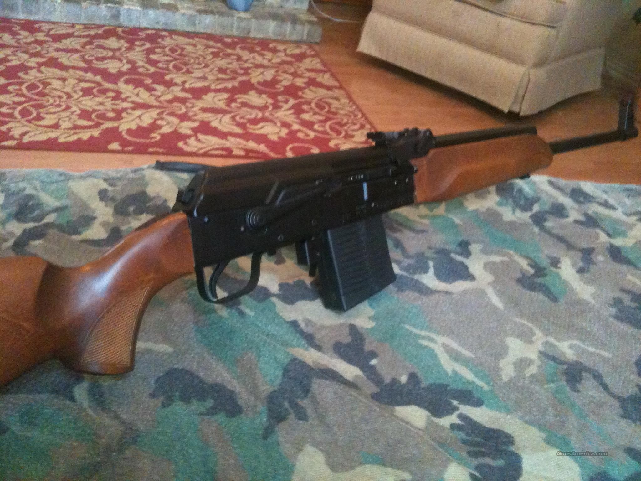 Early Saiga .308 as new with discontinued bolt hold-back and wood furniture  Guns > Rifles > Saiga Rifles