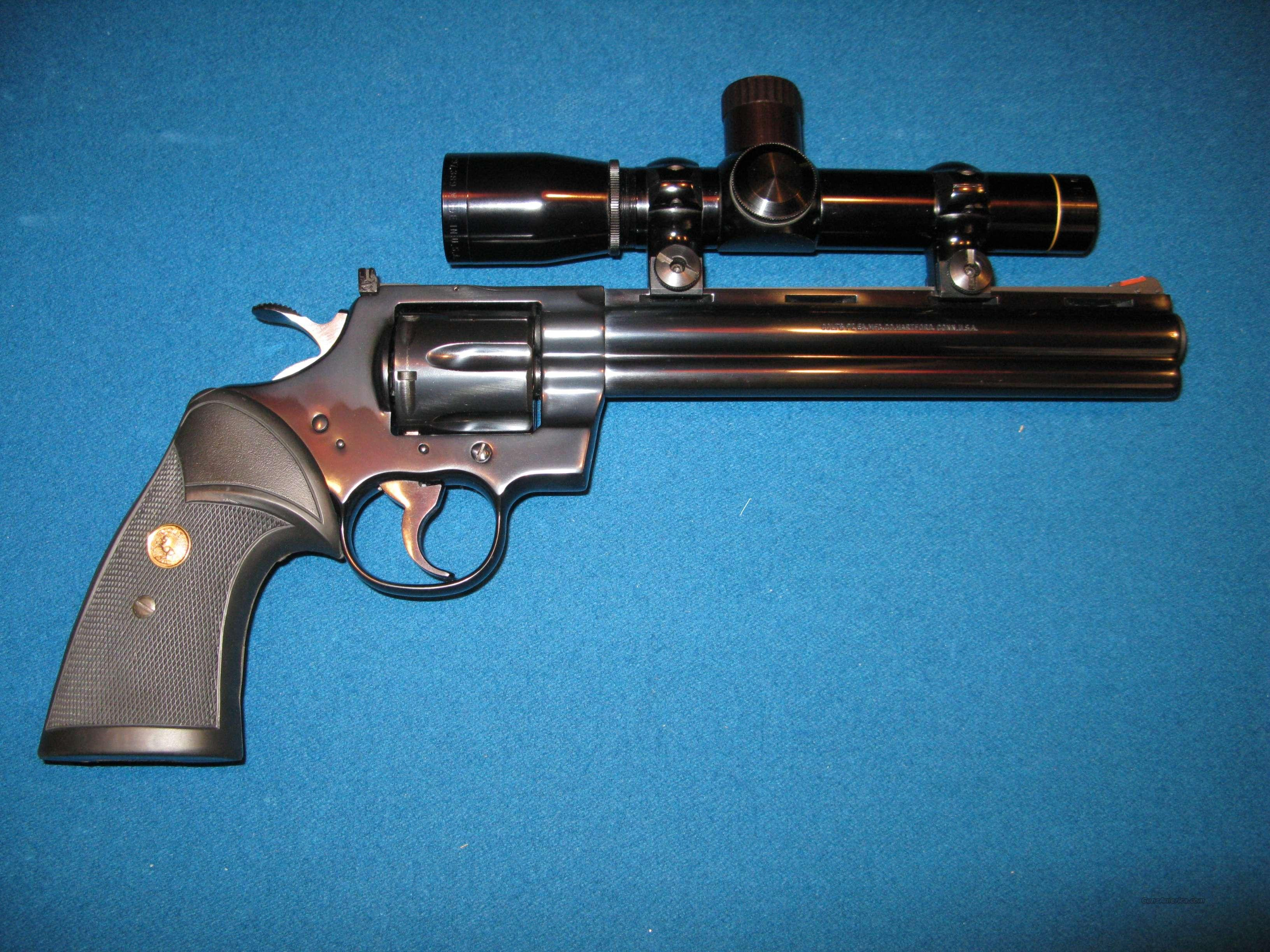 COLT, PYTHON HUNTER  Guns > Pistols > Colt Double Action Revolvers- Modern