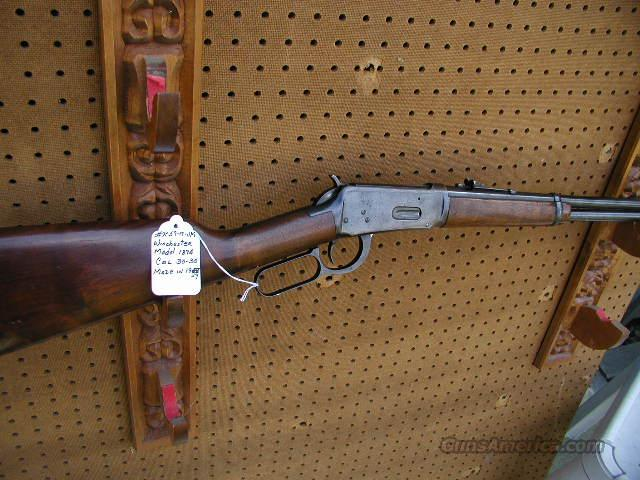 Winchester model 1894  Guns > Rifles > Winchester Rifles - Modern Lever > Model 94 > Pre-64