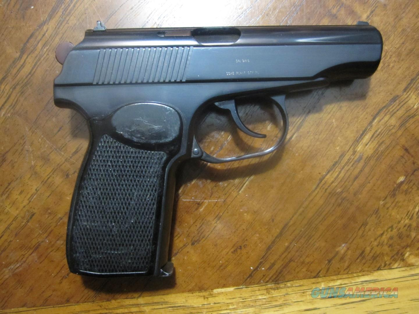 1960 East German Makarov unfired! 9x18 nice!   Guns > Pistols > Military Misc. Pistols Non-US