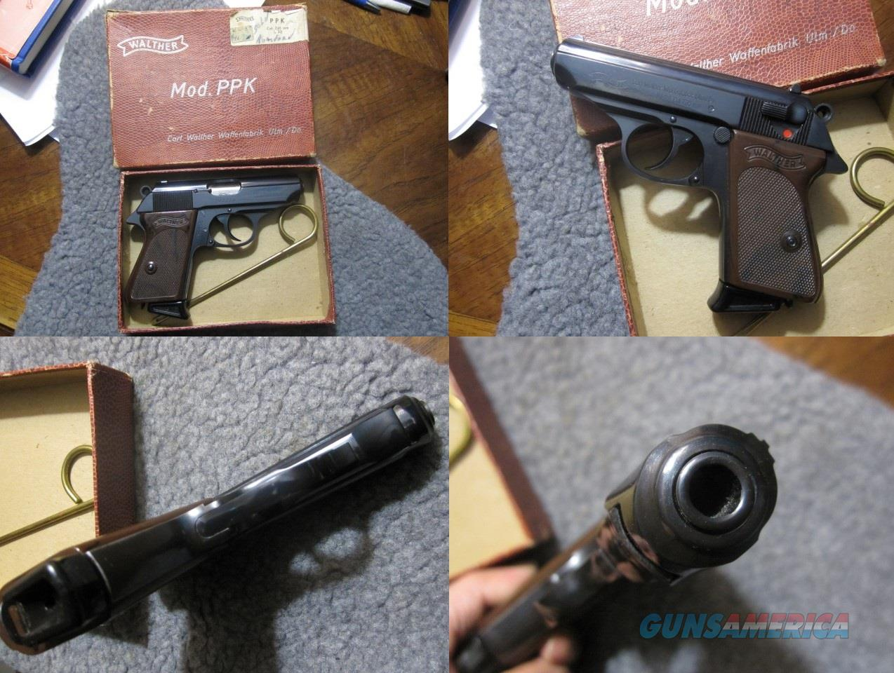 SPF: Walther PPK in Like New Condition  Guns > Pistols > Walther Pistols > Post WWII > PPK Series
