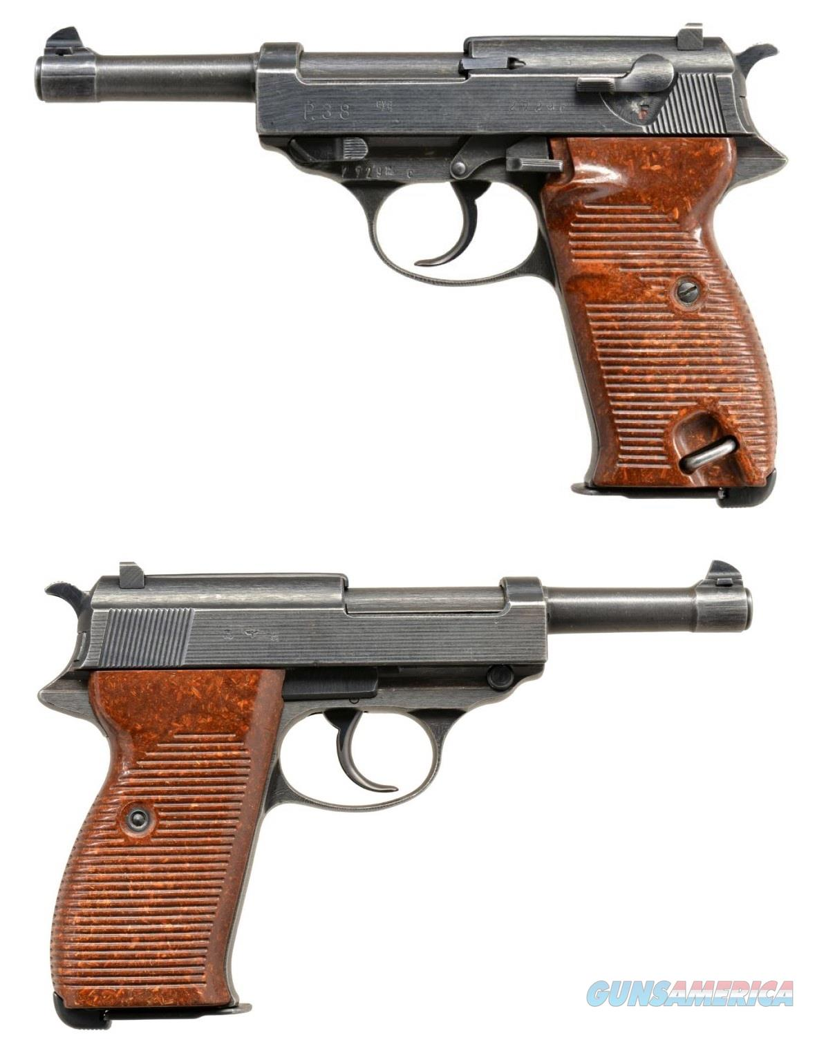 Early Spreewerke made (cyq) Walther P38 Pistol of WWII Nice  Guns > Pistols > Walther Pistols > Pre-1945 > P-38