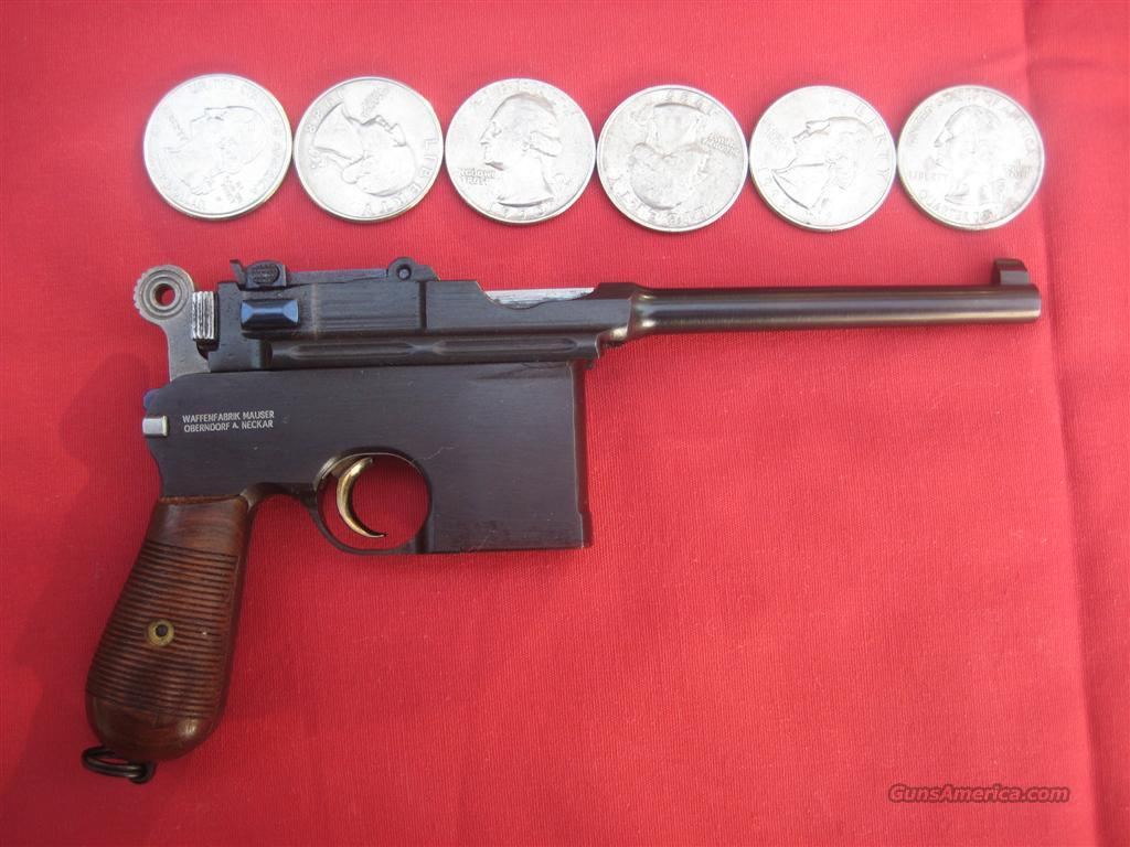 Mauser Broomhandle Flatside C96 1/2 Scale Miniature  Non-Guns > Miniature Rifles/Pistols/Shotguns