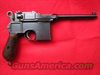 Mauser Broomhandle C96 Transitional Large Ring Hammer with Stock  Guns > Pistols > Mauser Pistols