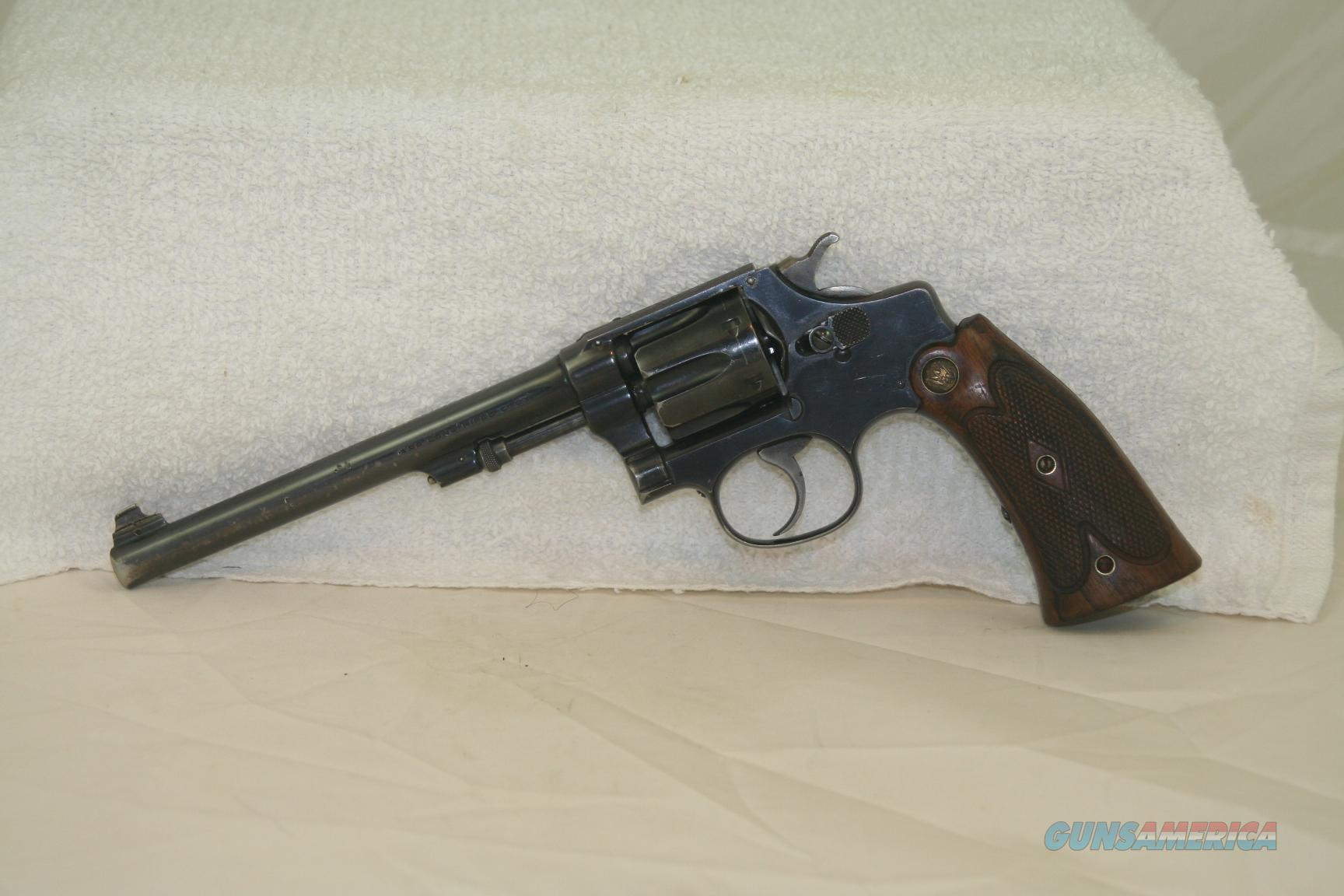 "S&W 22/32 ""Bekeart Model"" Hand Ejector with Box, circa 1917  Guns > Pistols > Smith & Wesson Revolvers > Pre-1945"