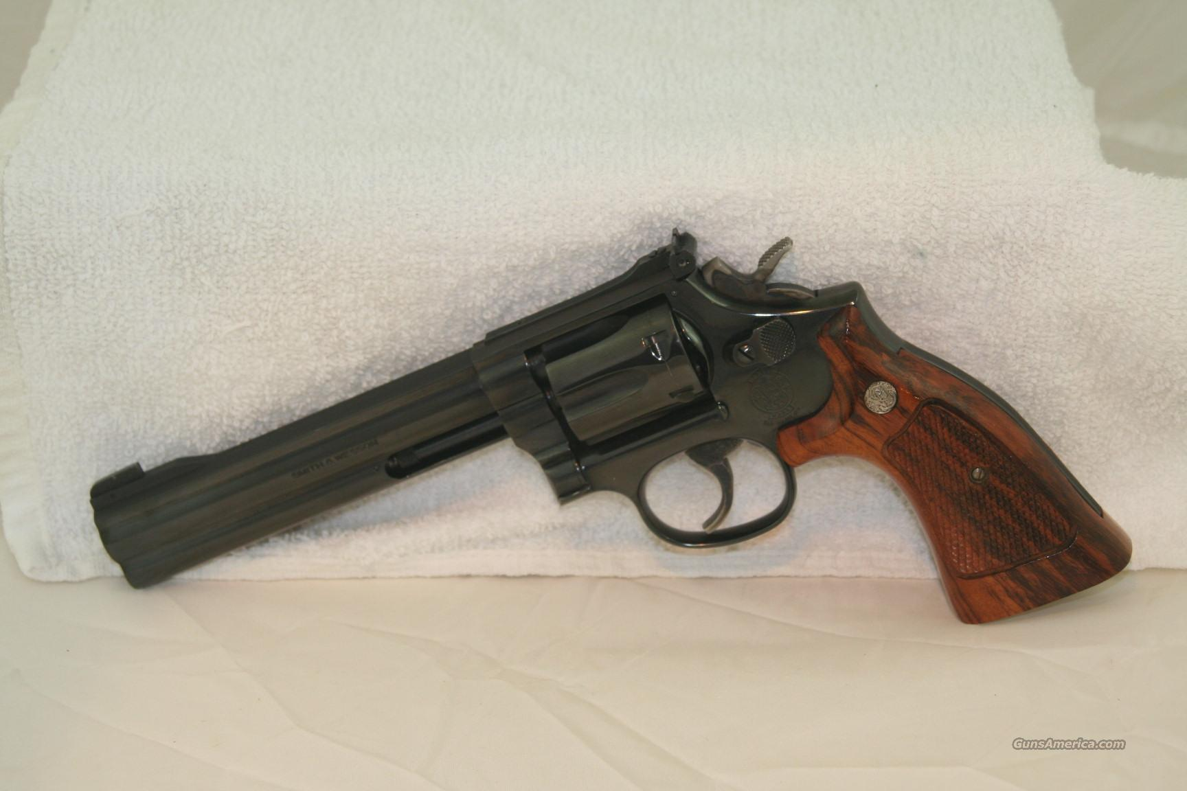 S&W M17-6  Guns > Pistols > Smith & Wesson Revolvers > Full Frame Revolver