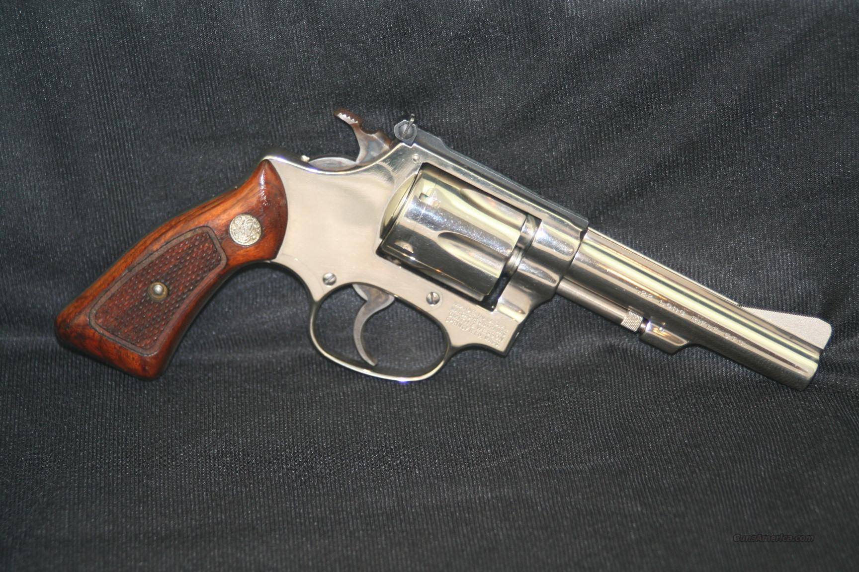 S&W 34-1 Nickle  Guns > Pistols > Smith & Wesson Revolvers > Full Frame Revolver
