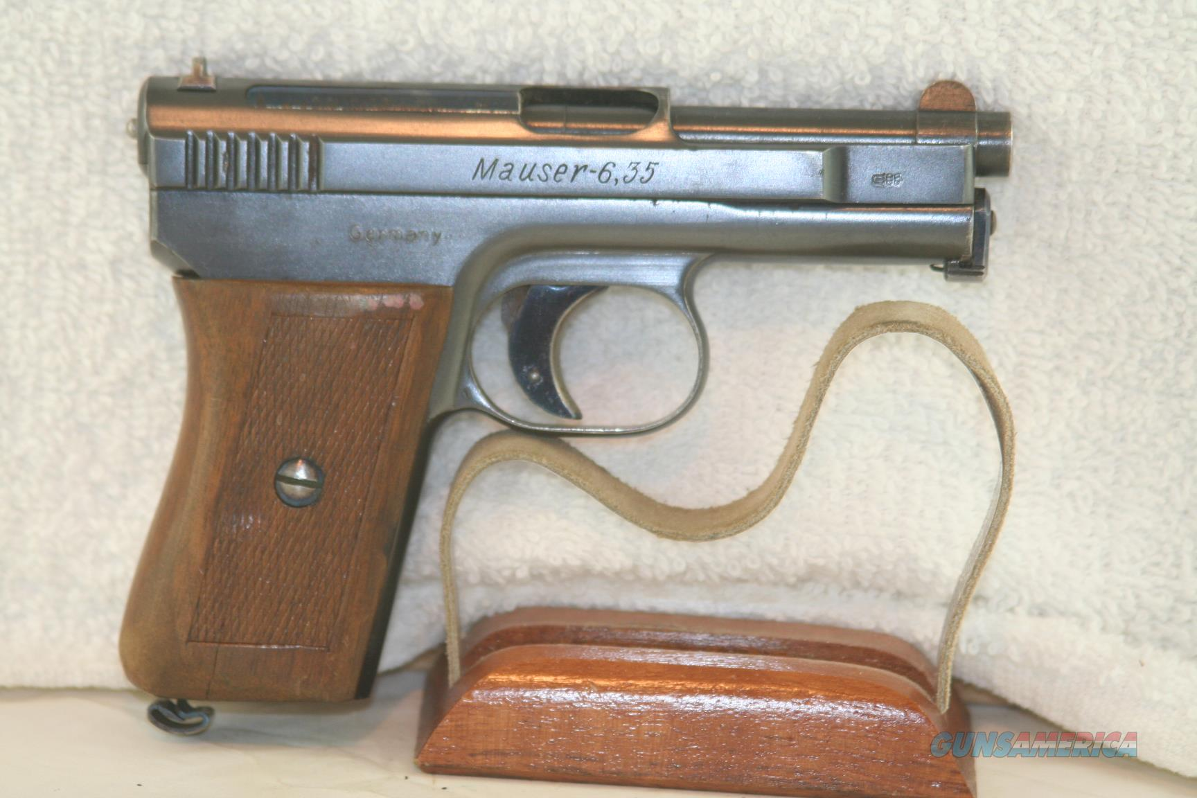 Mauser Model 1910, 25 ACP  Guns > Pistols > Walther Pistols > Pre-1945 > Other