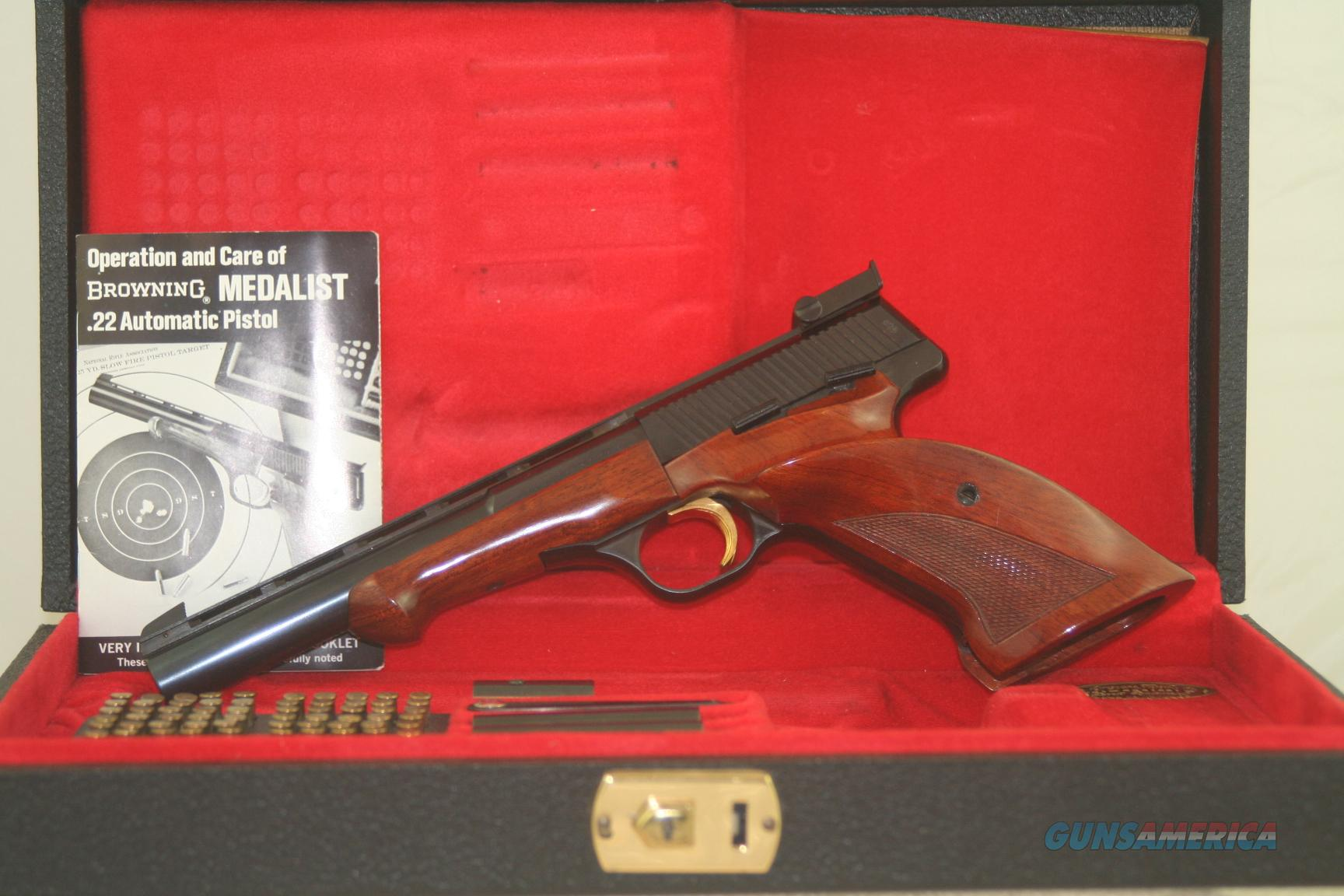 Browning Medalist 22 Target Pistol  Guns > Pistols > Browning Pistols > Other Autos