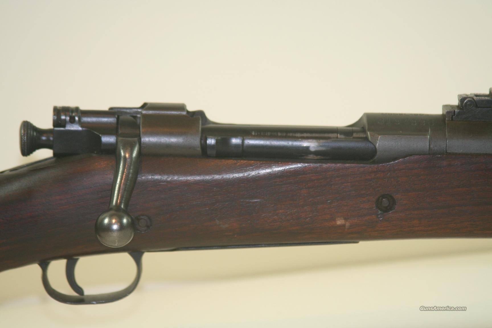 Remington M 1903 30-06, Bbl dated R-A/4-42  Guns > Rifles > Military Misc. Rifles US > 1903 Springfield/Variants