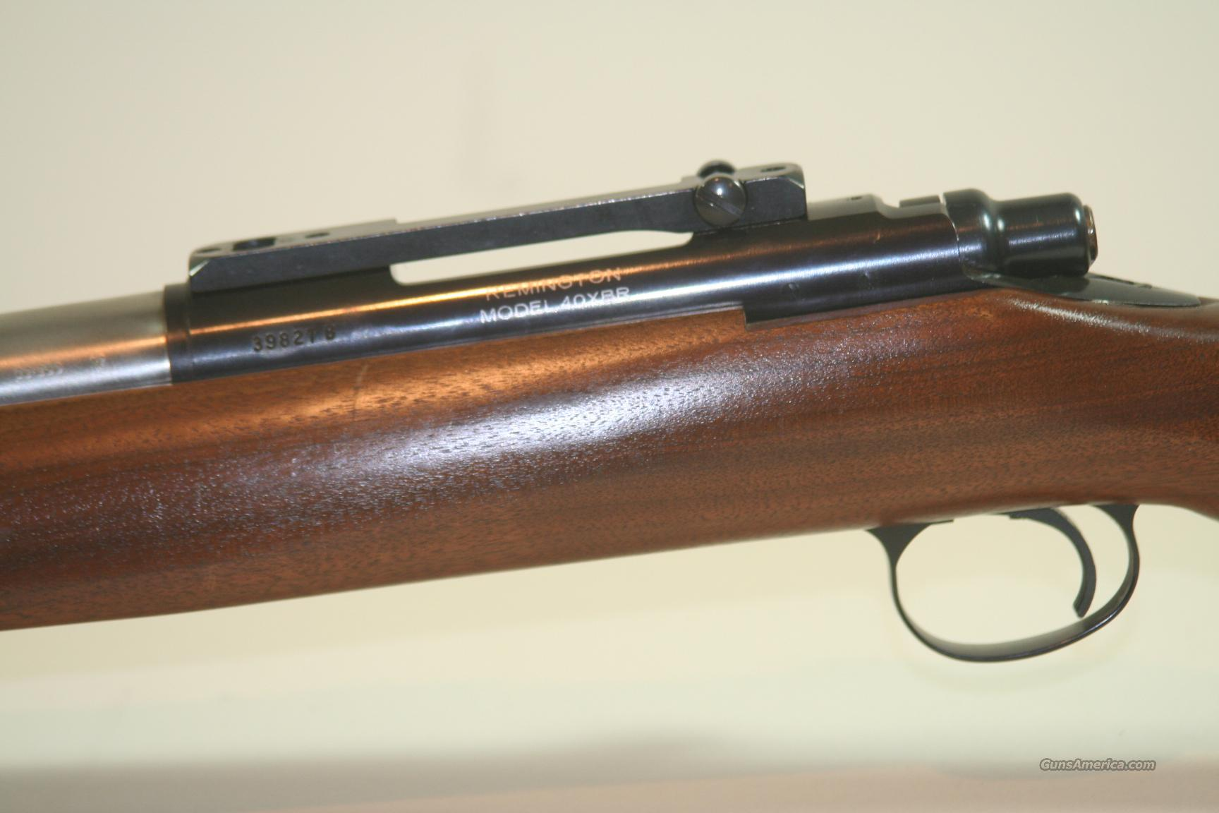 Remington Model 40 XBR, 22-250  Guns > Rifles > Remington Rifles - Modern > Bolt Action Non-Model 700 > Sporting