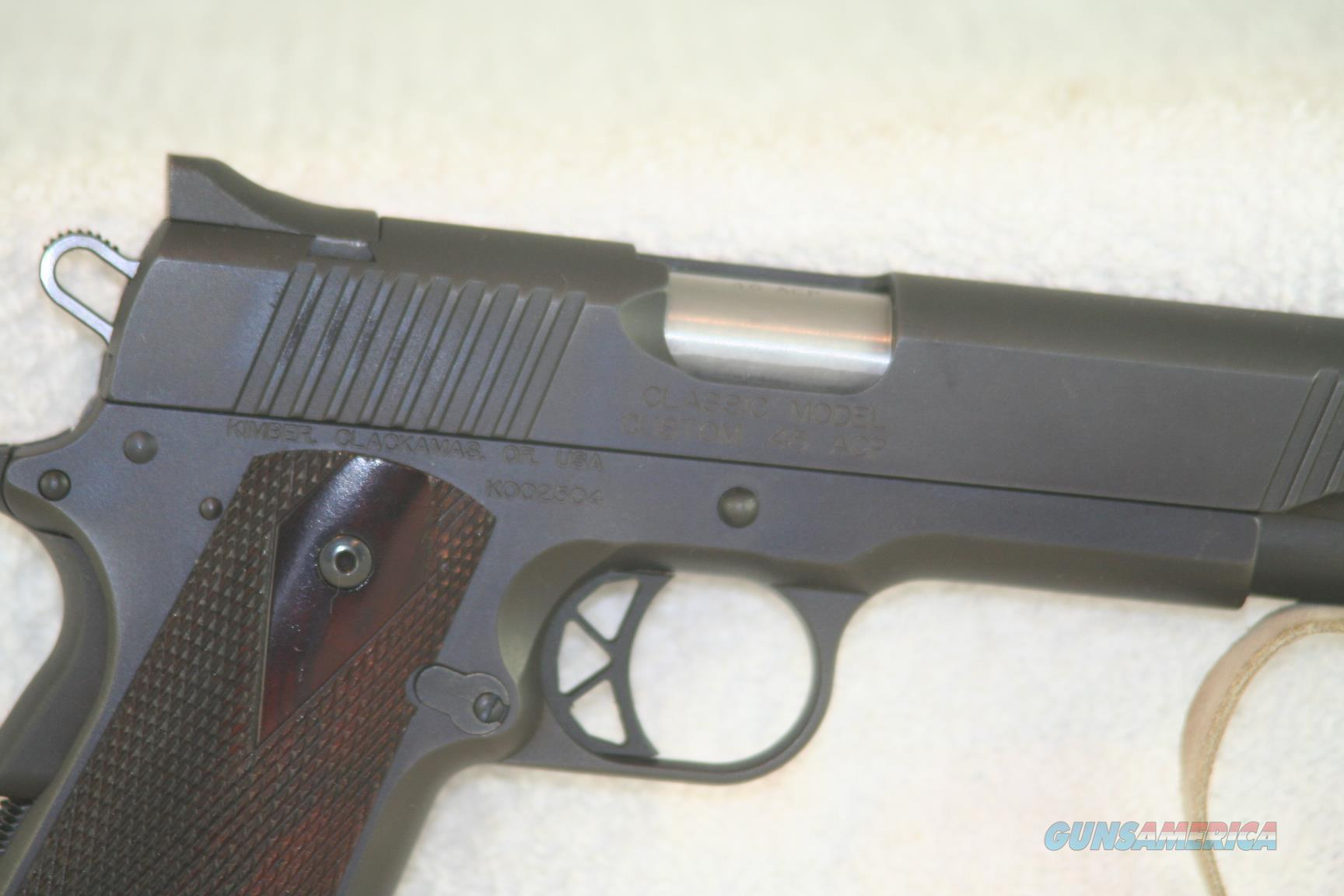 "Kimber Classic Model Custom 45 ACP, 5""  Guns > Pistols > Kimber of Oregon Pistols"