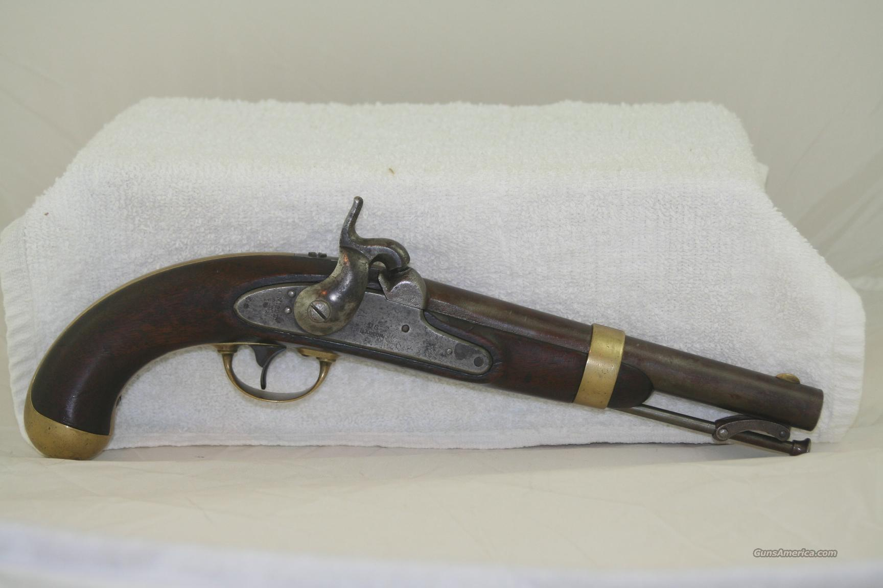H. Aston U.S. Model 1842 Pistol  Guns > Pistols > Antique (Pre-1899) Pistols - Perc. Misc.