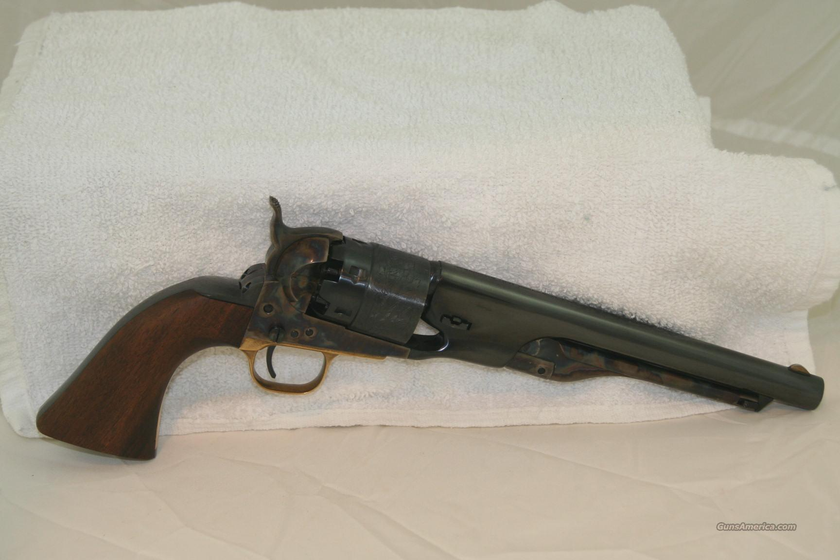 Colt M1860 Army 2nd Gen.  Guns > Pistols > Colt Percussion Revolver - Modern