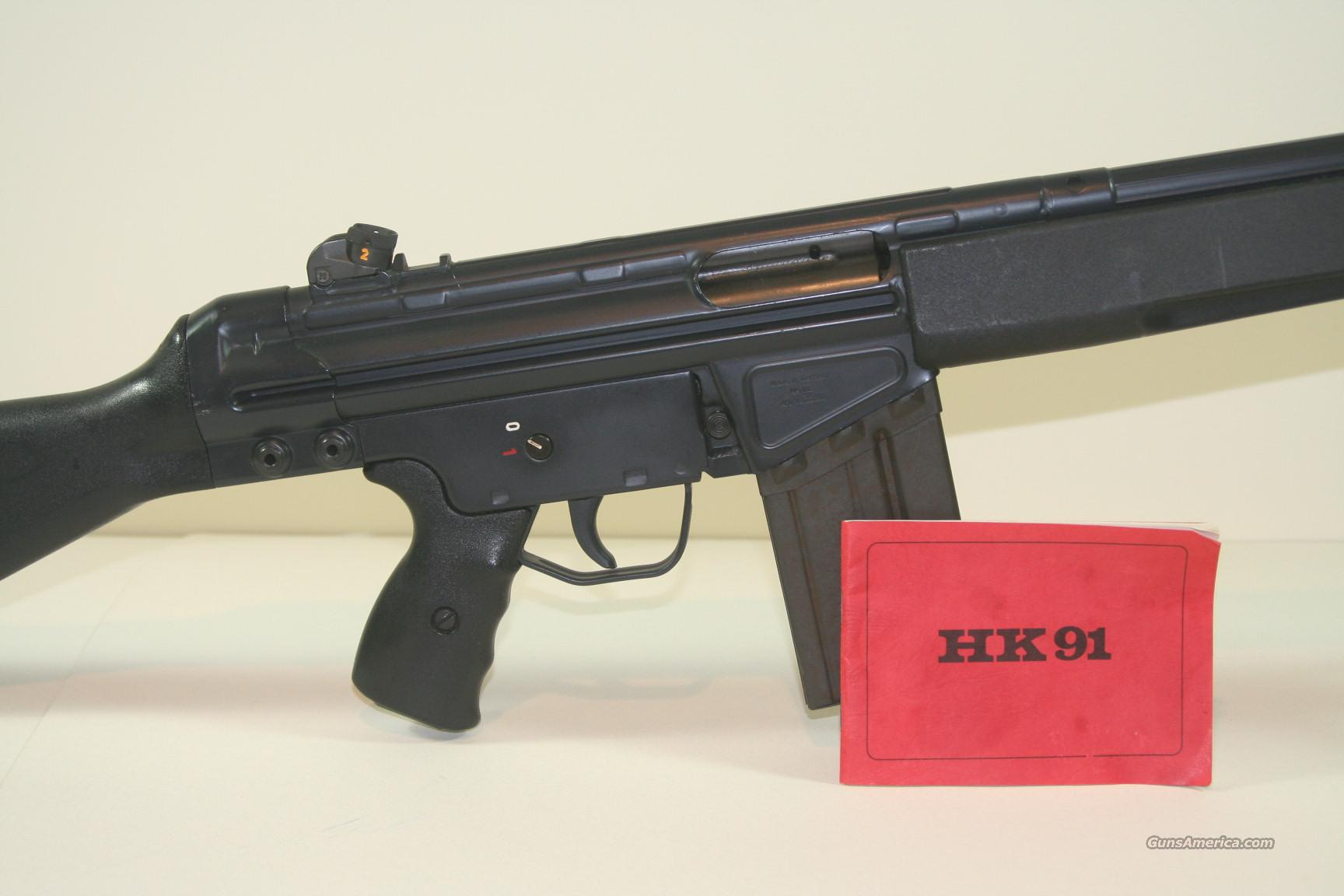 H&K M 91  Guns > Rifles > Heckler & Koch Rifles > Tactical