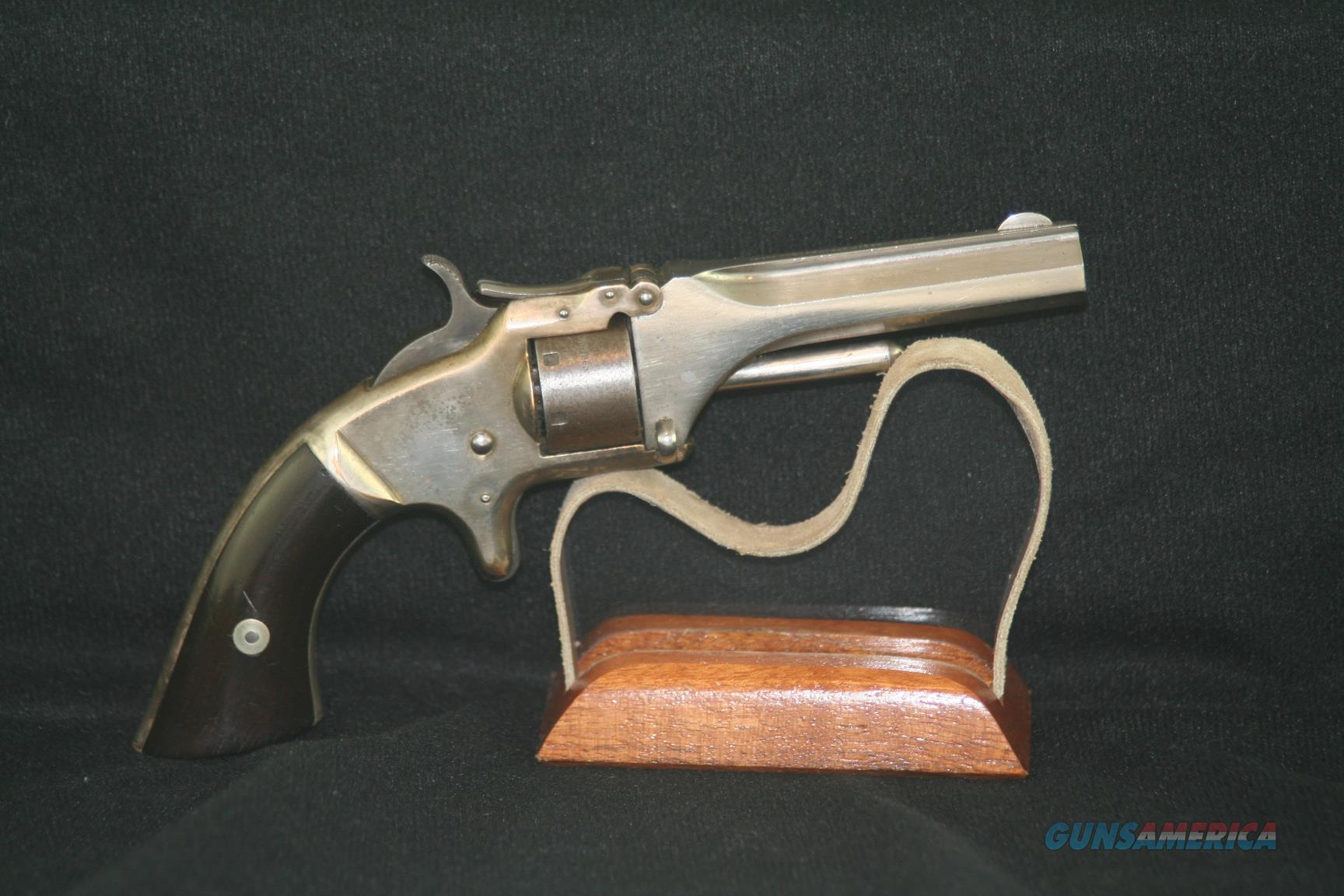 Smith & Wesson Model 1, 2nd issue, 22. Made in 1865  Guns > Pistols > Smith & Wesson Revolvers > Pre-1899